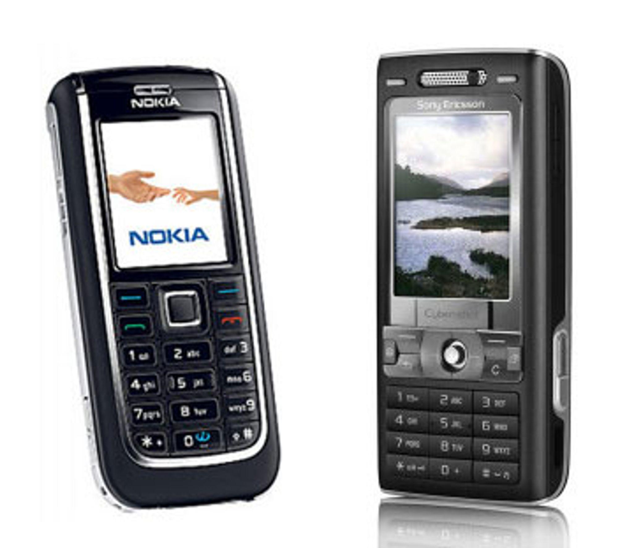 Hvilken telefon ville du tatt med deg på tur?