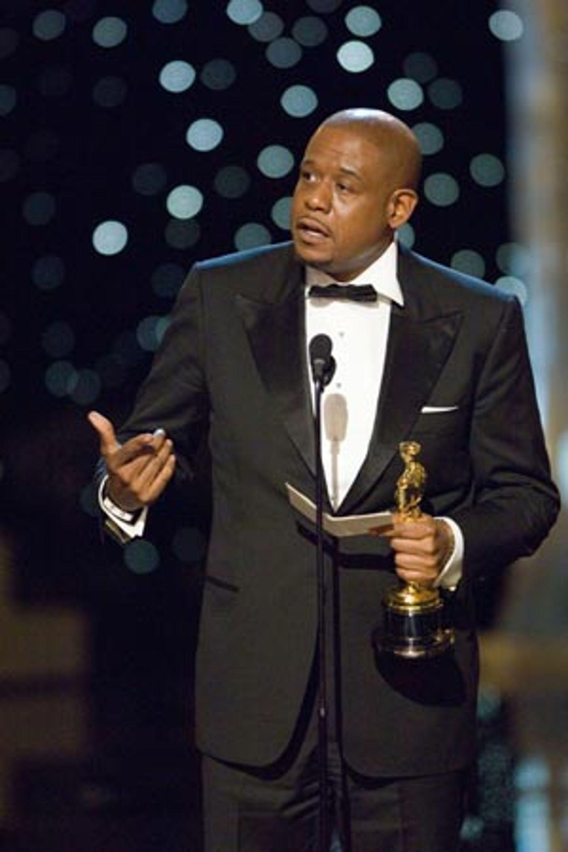 Forest Whitaker fikk pris som beste mannlige hovedrolle.