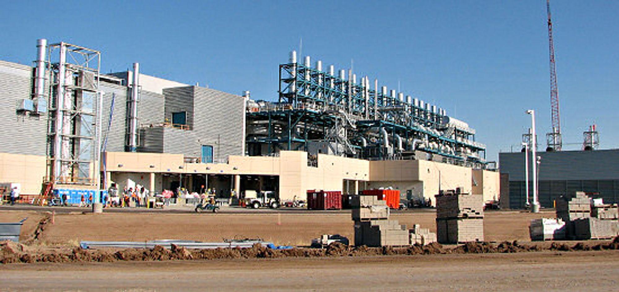 Intels Fab 32 i Arizona, en av tre Intel-fabrikker som skal produsere på 45 nm