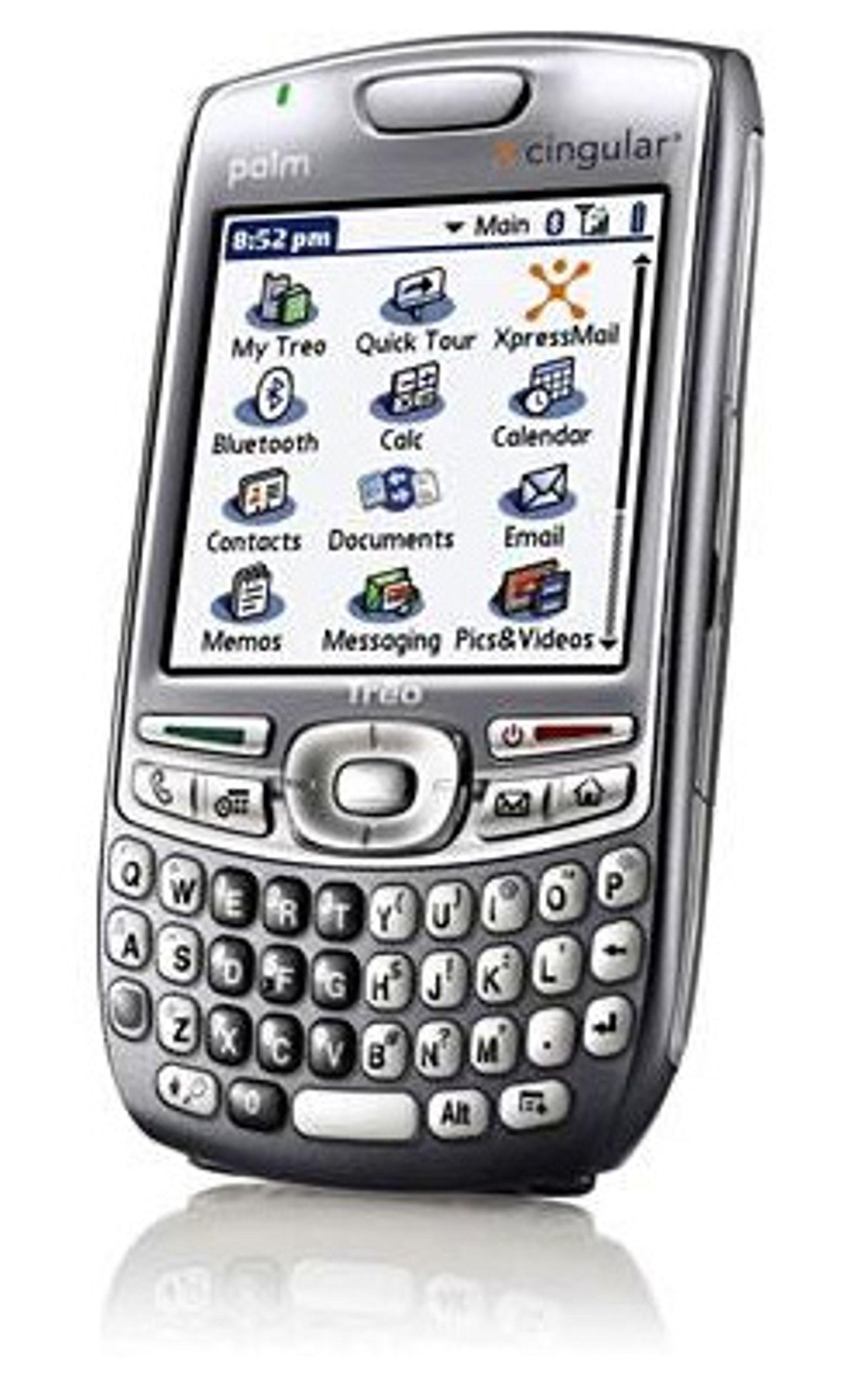 Om Nokia hadde kjøpt Palm, ville vi kanskje fått sett en Treo med Symbian Series 60 (Foto: Palm)