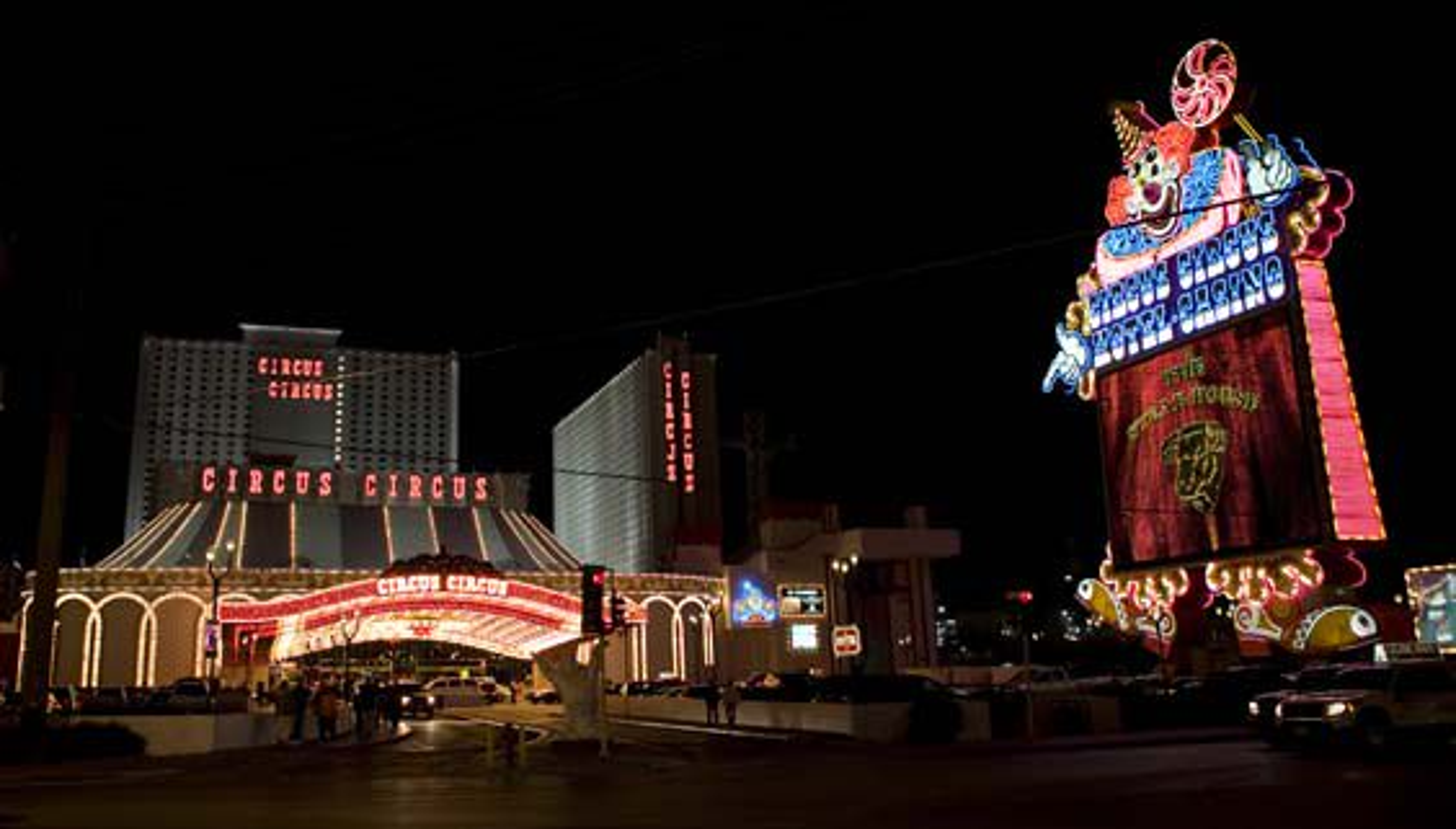 Et av Las Vegas ærverdige hoteller...
