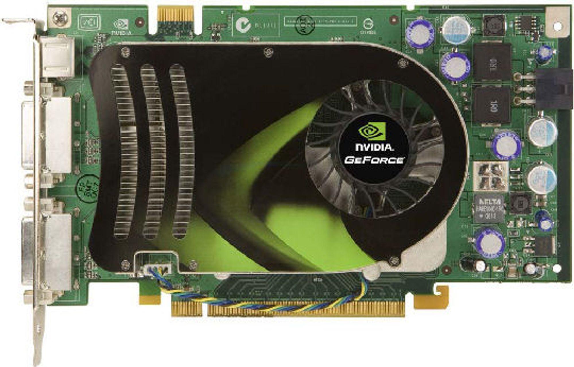 <em>Nvidias referansedesign for GeForce 8600 GTS</em>