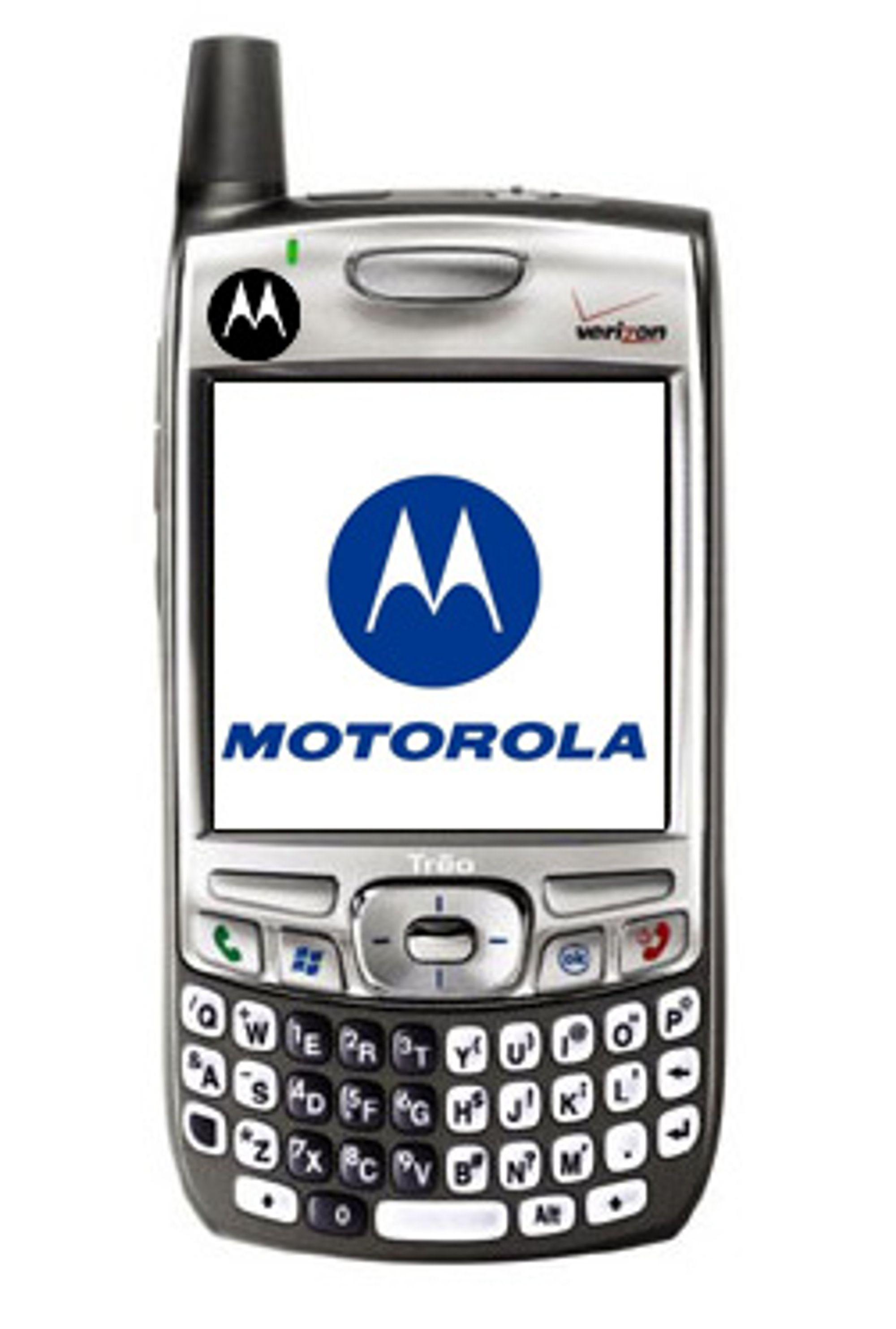 Ifølge en Palm-aksjonær er det ikke Nokia som skal kjøpe Palm, men Motorola. (Foto: Palm/Motorola, Ill: Einar Eriksen)