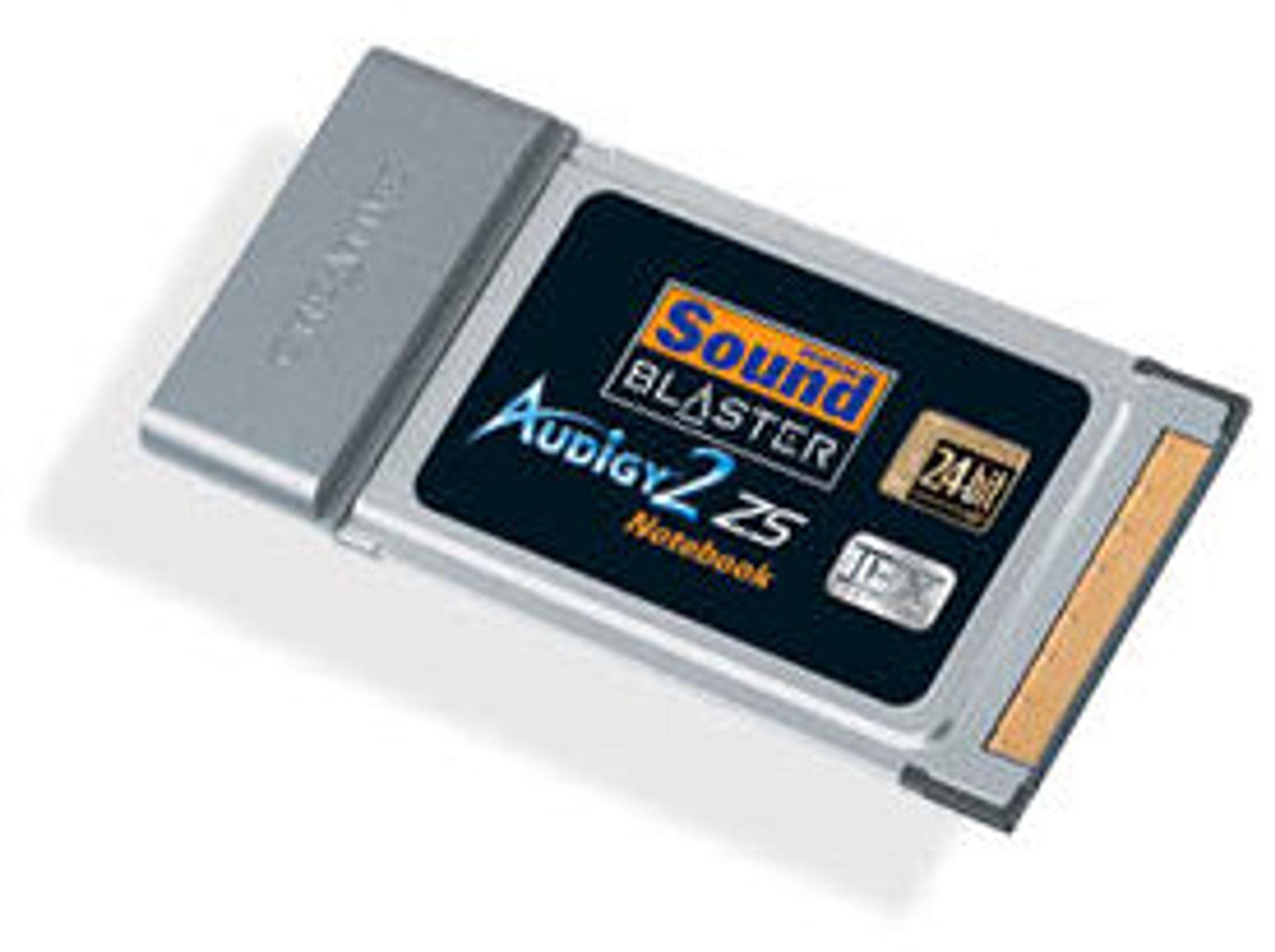 Audigy 2 Notebook får snart en arvtager