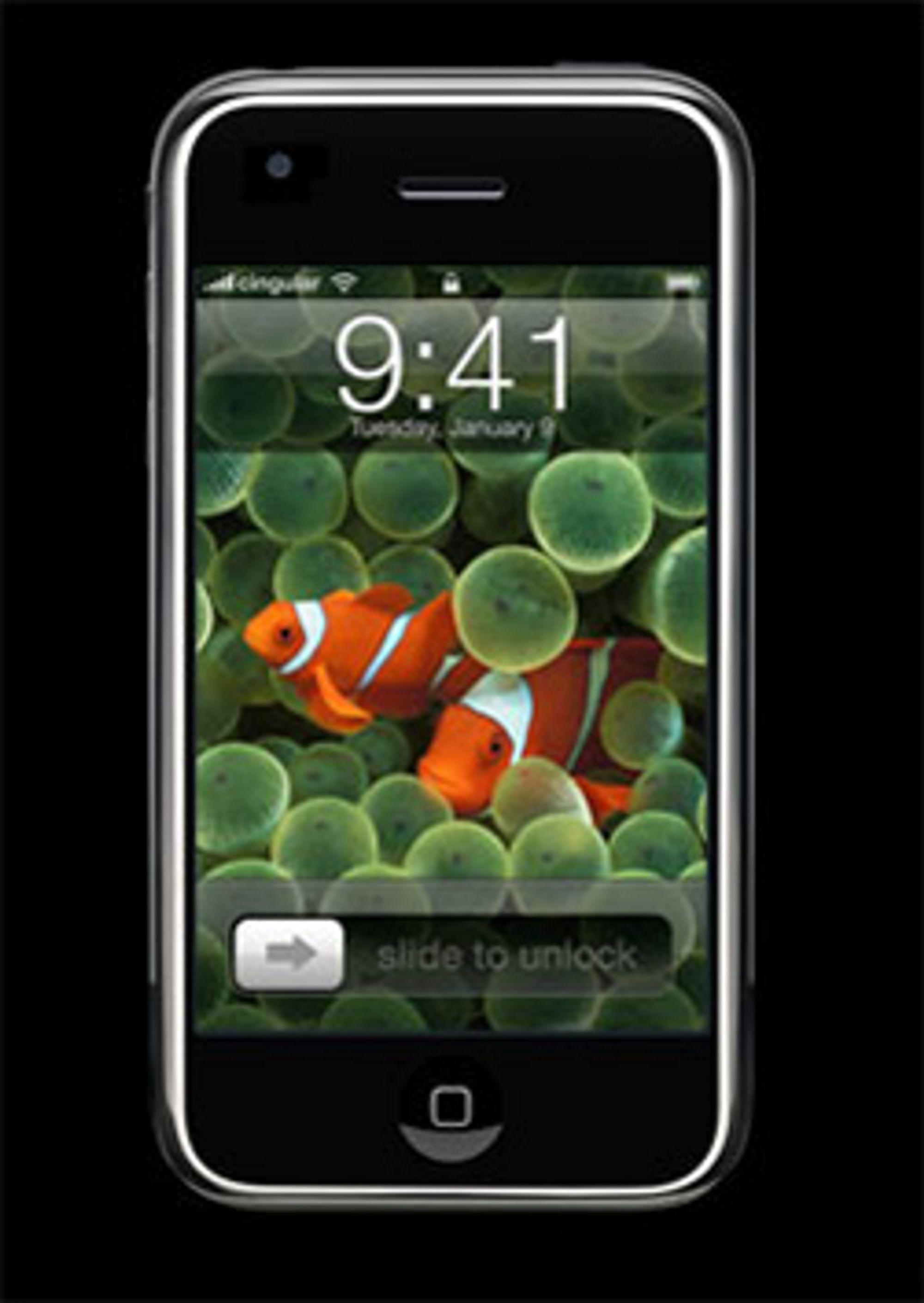 Iphone kommer ikke i salg helt enda