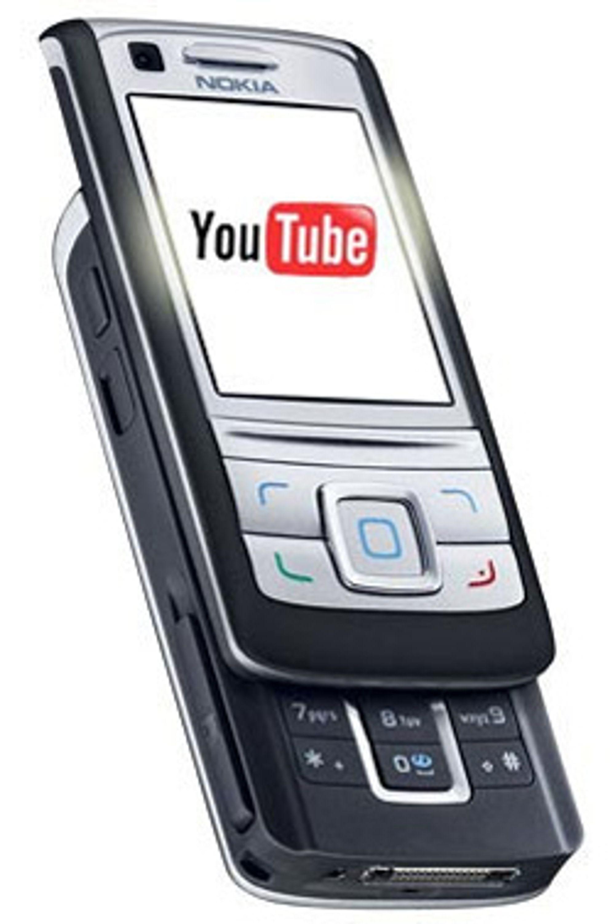 Snart på en mobil nær deg