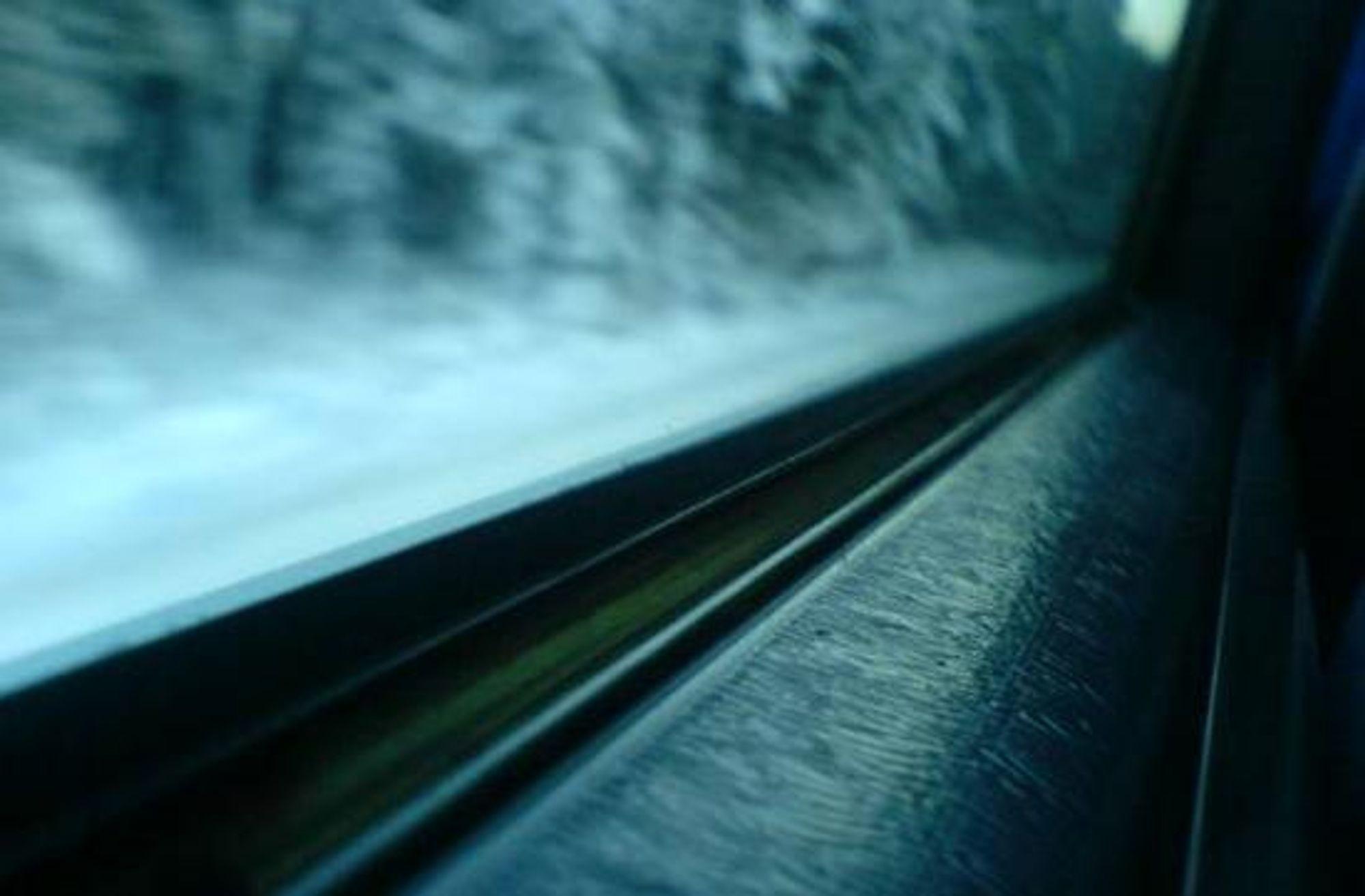 #1) Blikk fra et togvindu