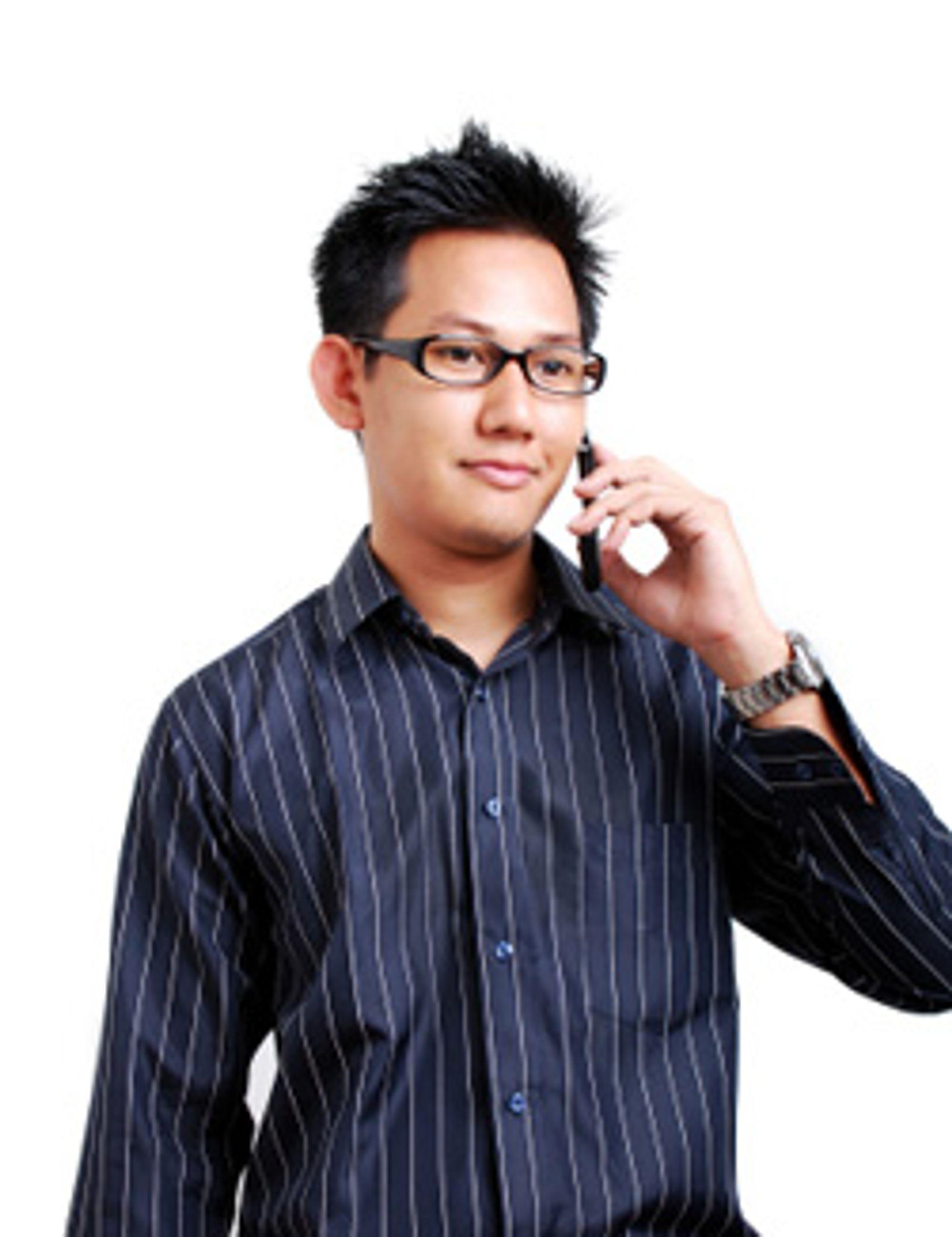 Asiaterne er ikke tro mot sine egne mobilprodusenter. (Foto: Istockphoto/ronen)