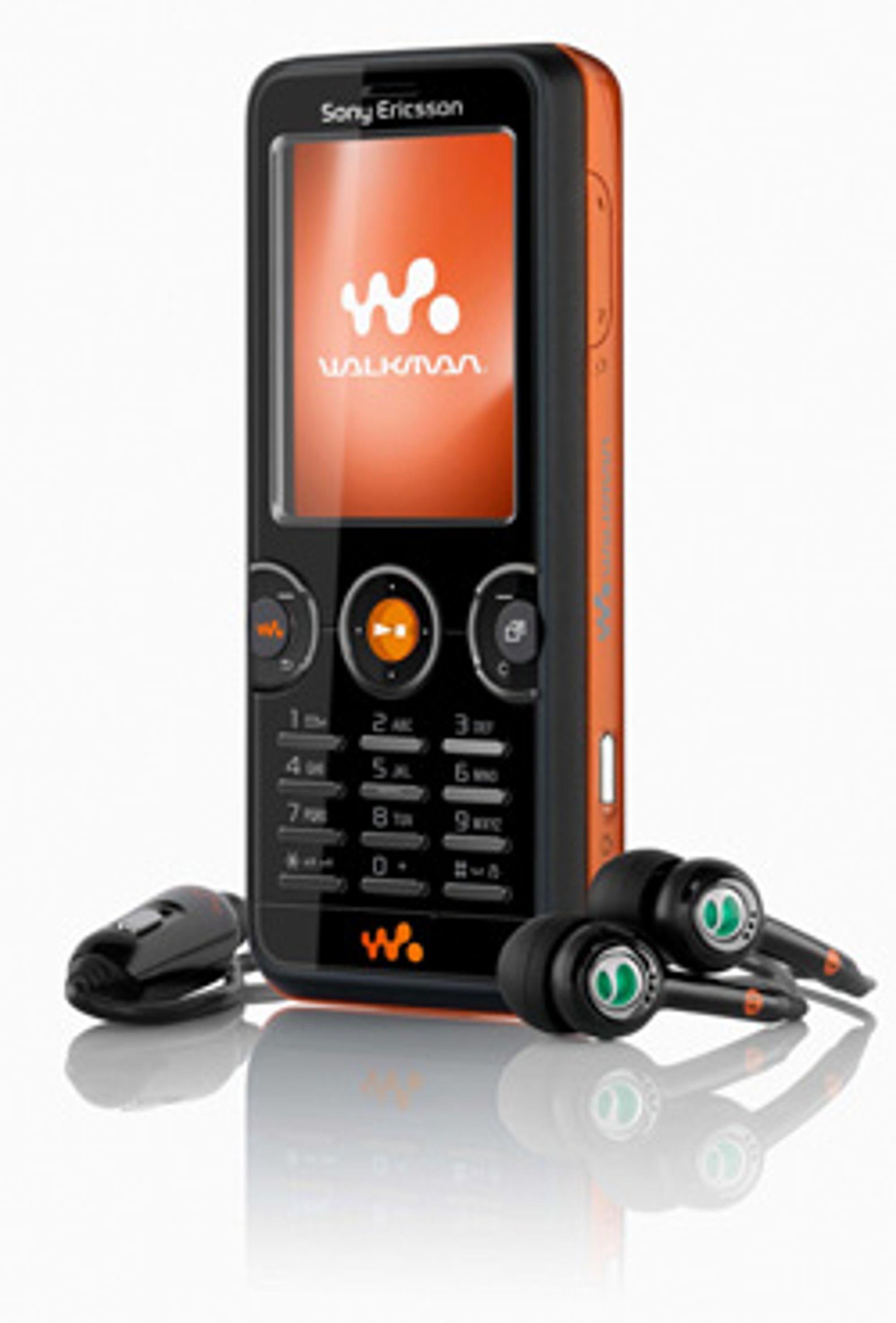 Sony Ericssons nye Walkman-mobil.