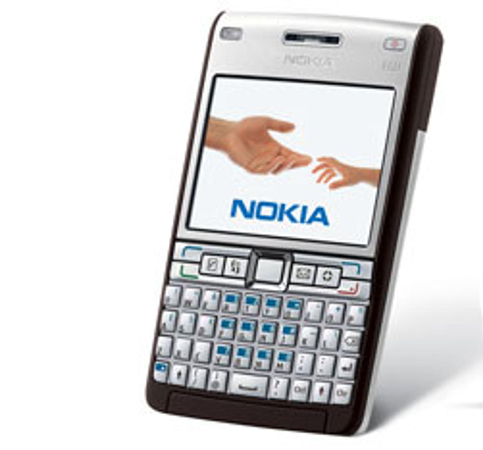Fulltastatur for kjapp e-posting.