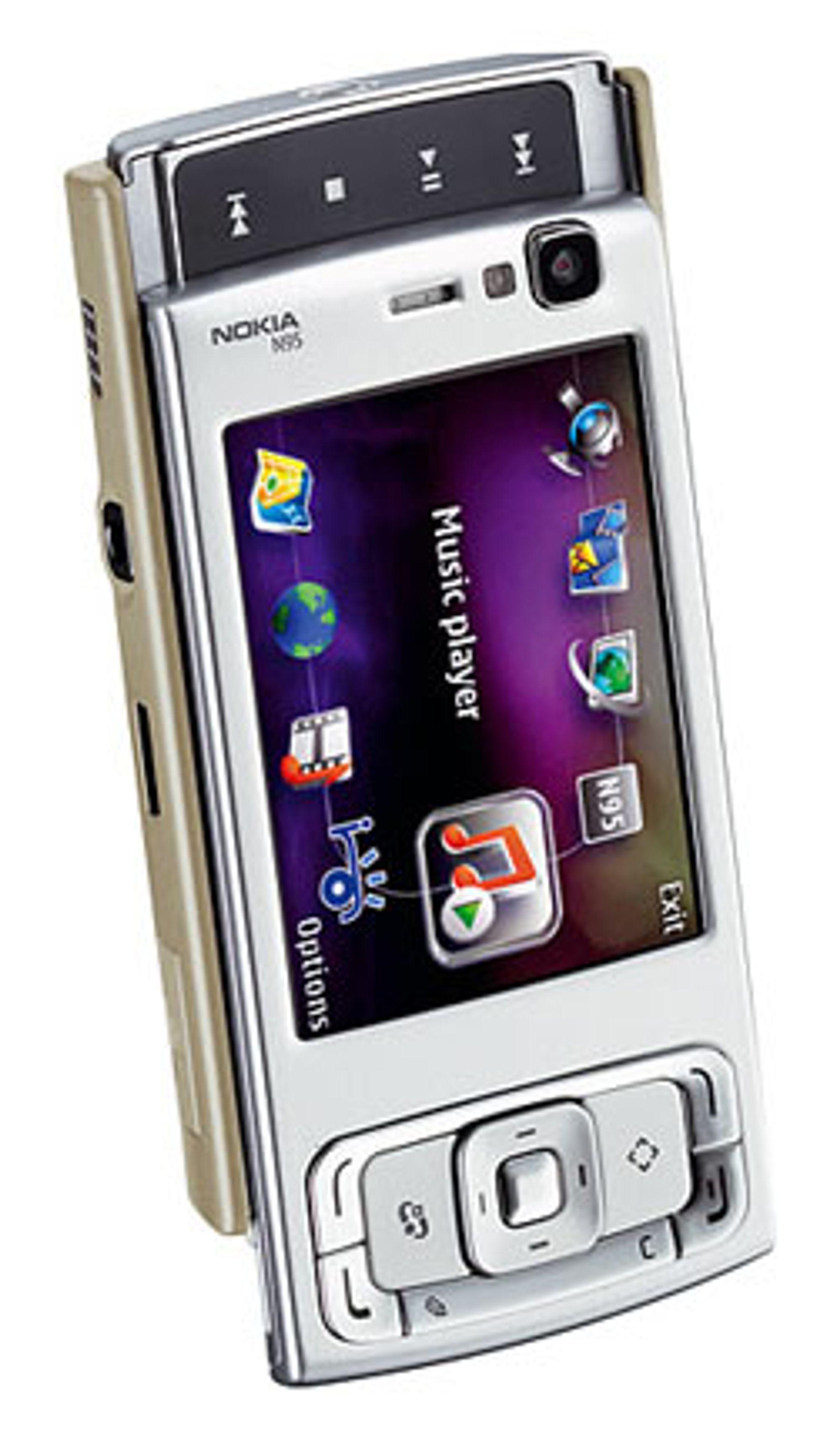 N95 kommer i butikkene i april.