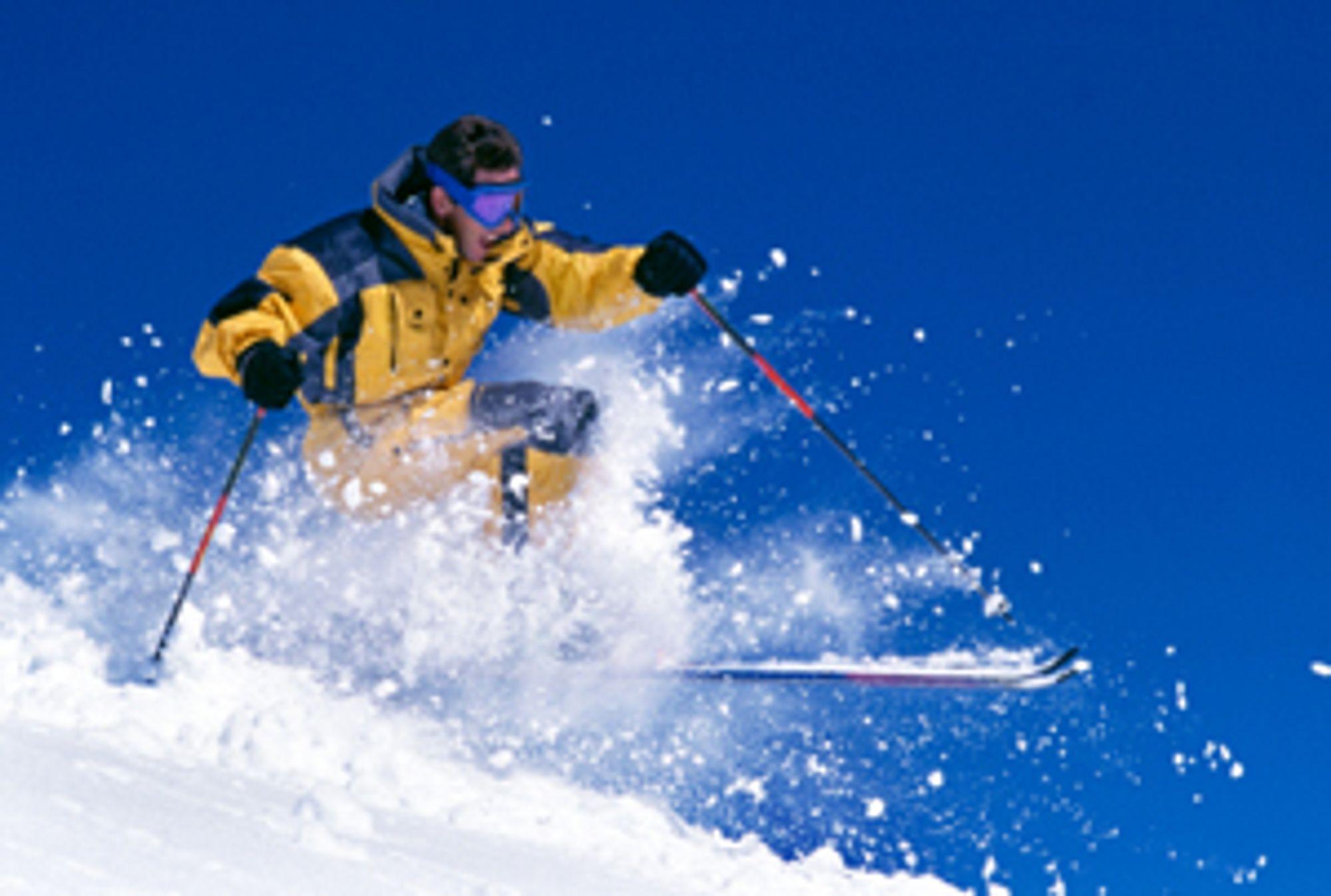 © Ben Blankenburg<br> Vintersport kan gi flotte motiver. Her er det viktig å bruke kort lukkertid for å fryse bevegelsen.