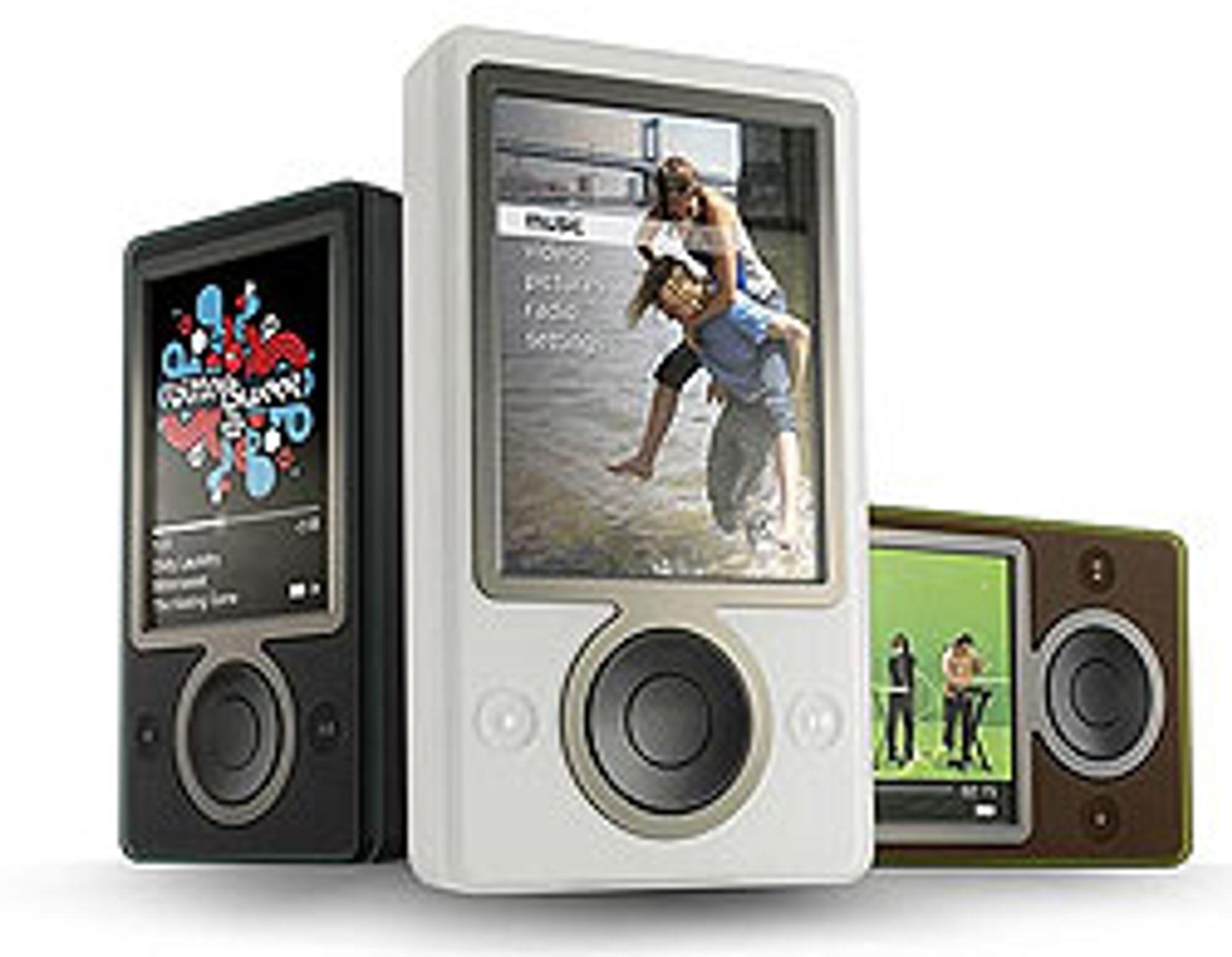 Microsoft Zune er den nyeste iPod-konkurrenten.