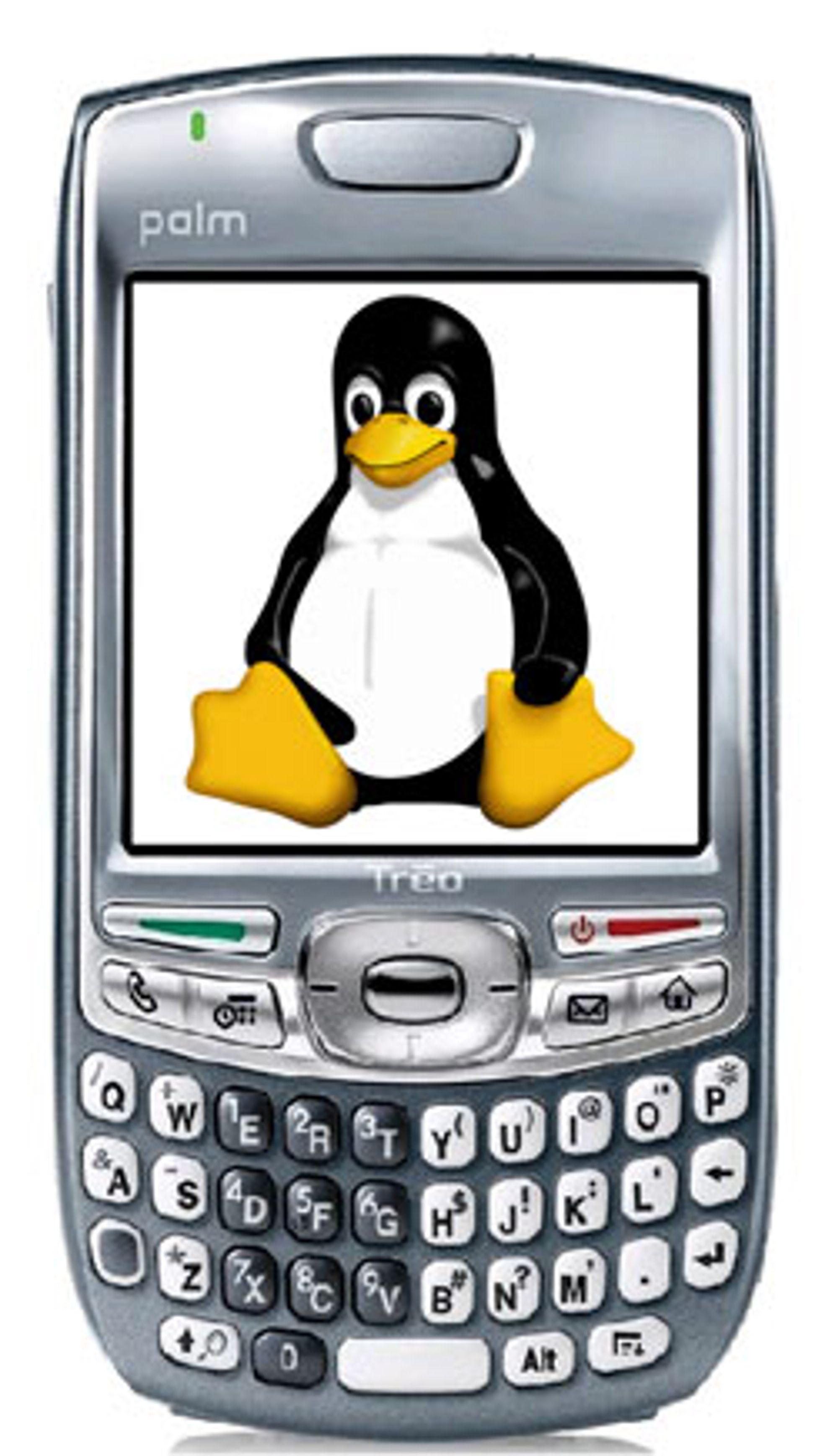 Palm putter Linux inn i mobilene sine.