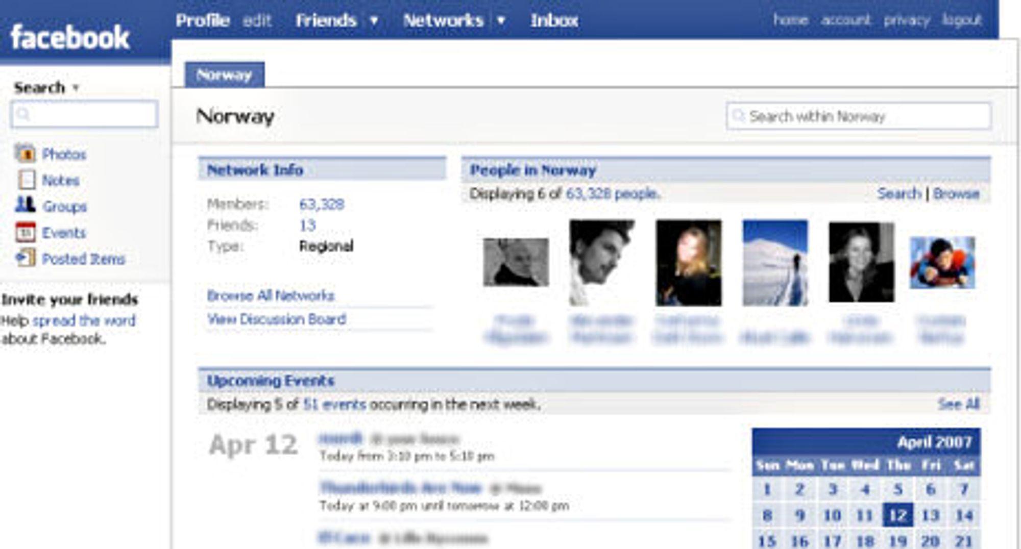 Facebook har fått oppdatert utseende