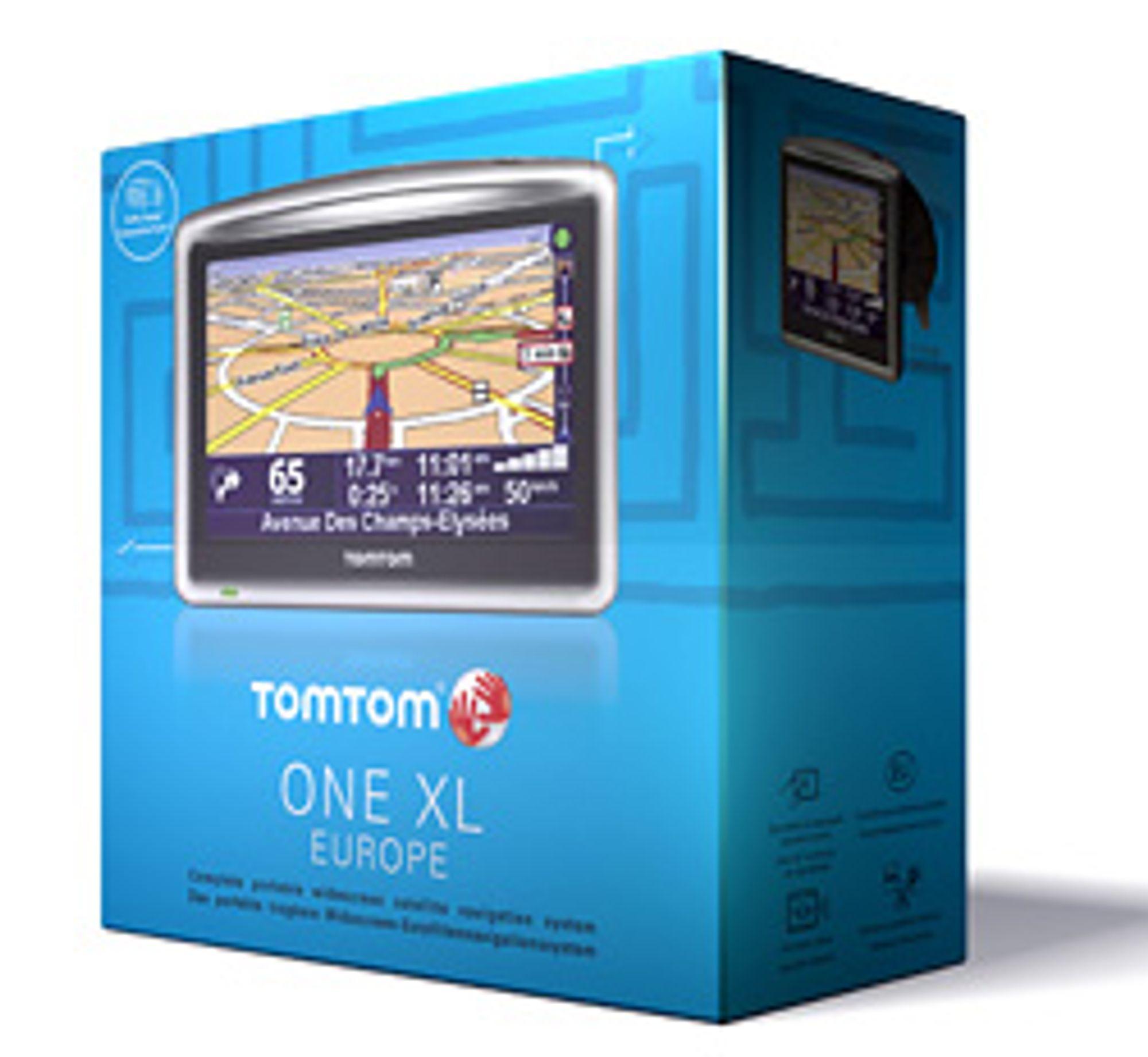 TomTom kommer med preinnstallerte kart for Europa eller Skandinavia. (Foto: TomTom)