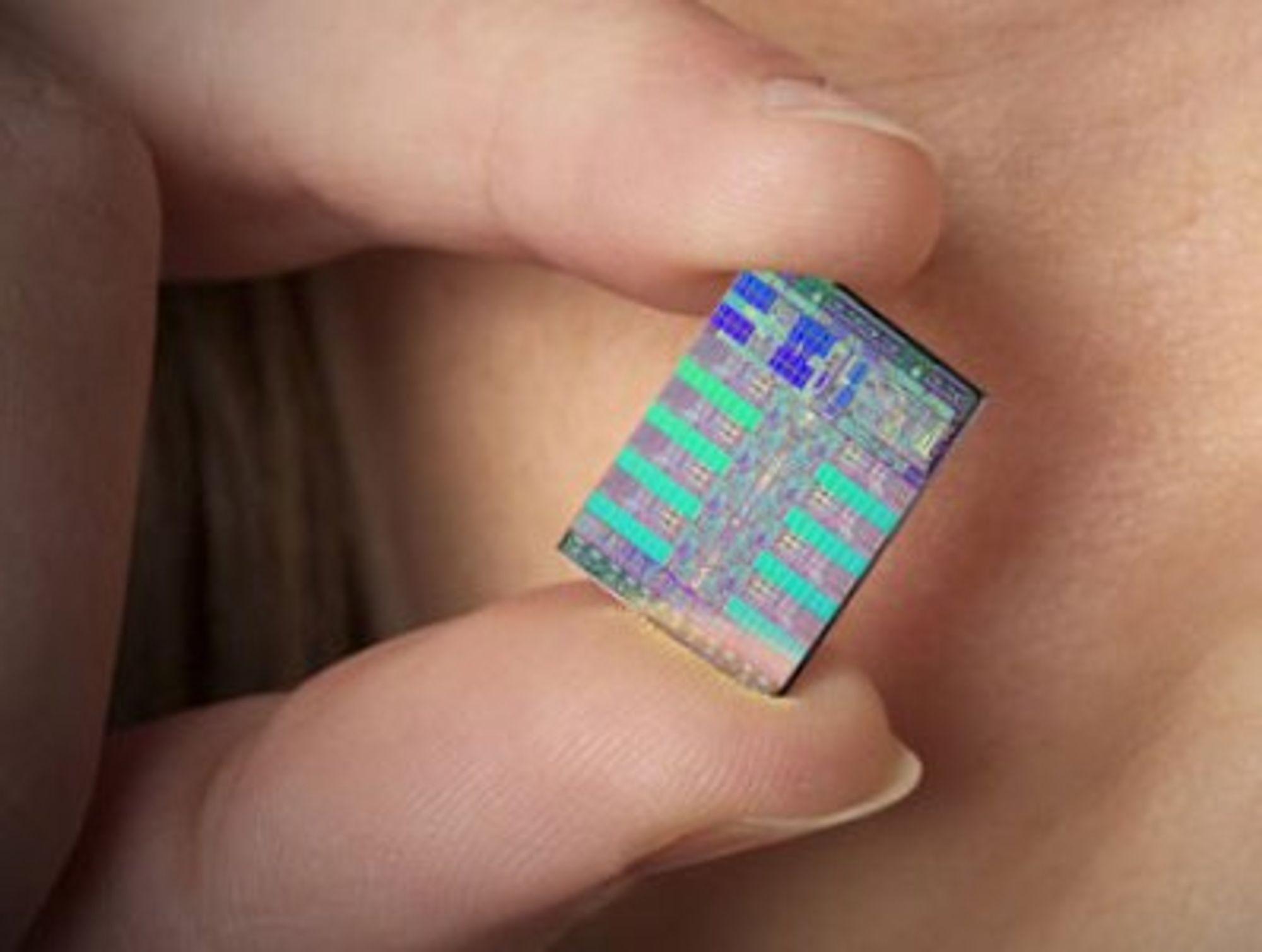 Bilde av en Cell-prosessor