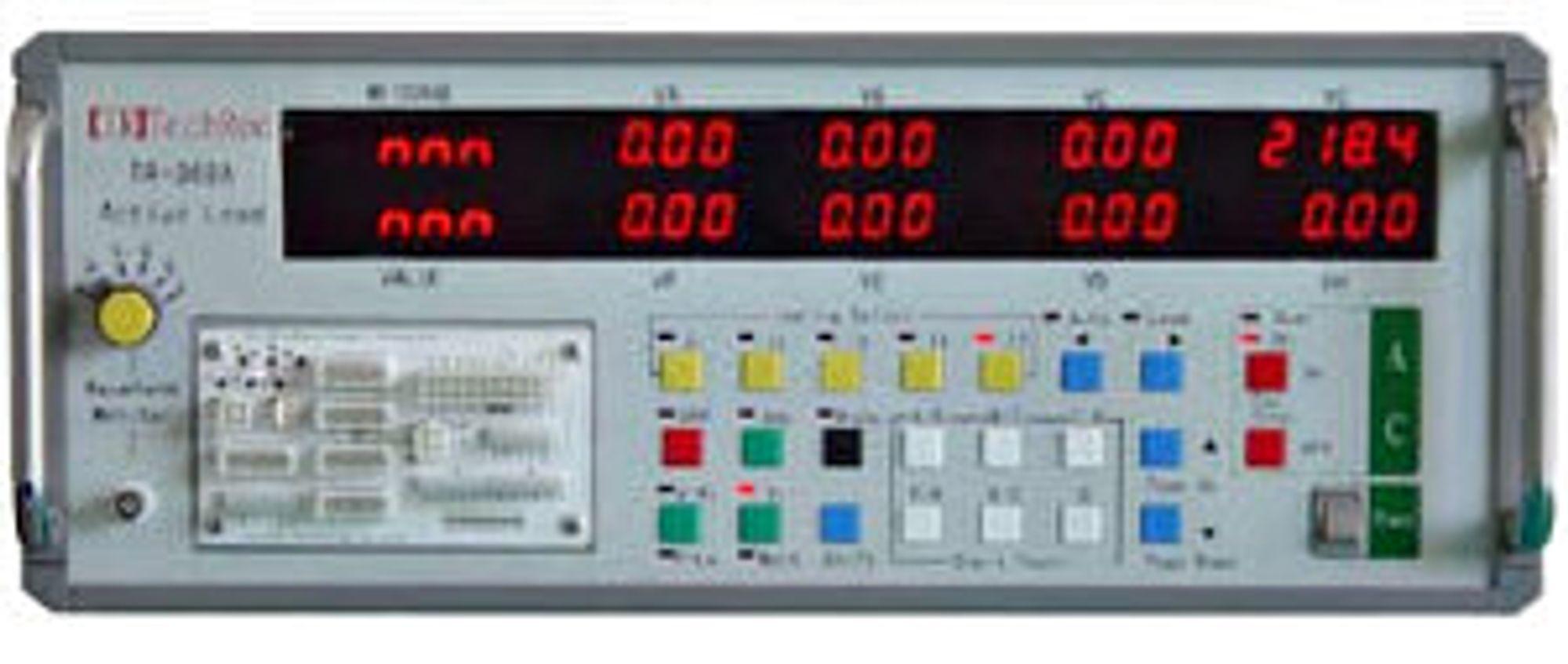 Vår testbenk for strømforsyninger - TR-368