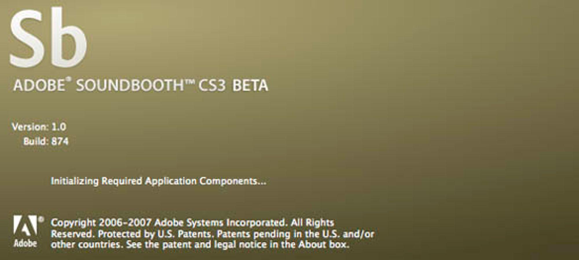 Soundbooth er blant beta-versjonene du nå kan teste.