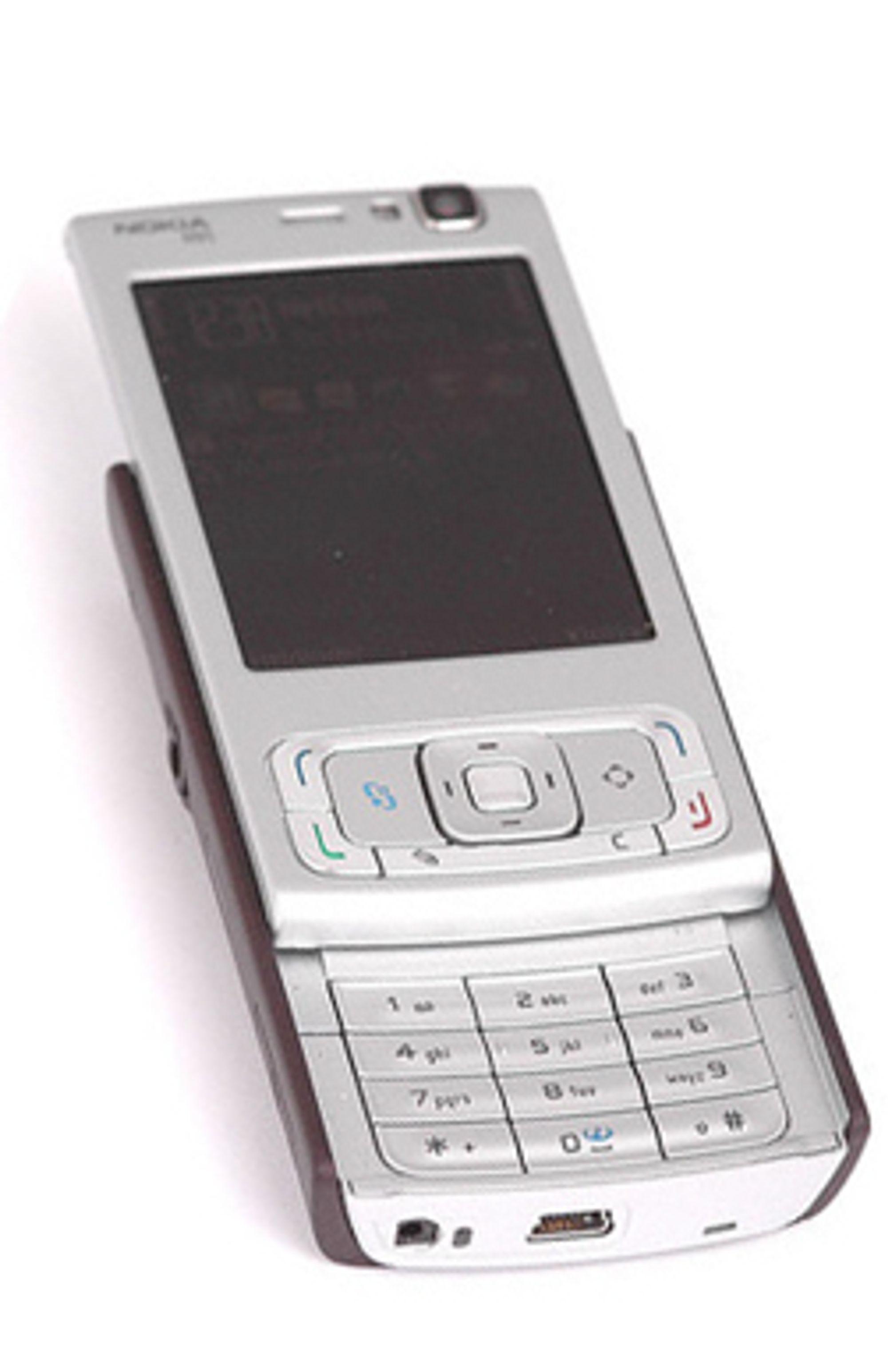 Det er nok N95 til alle som vil ha. (Foto: Marius Valle)