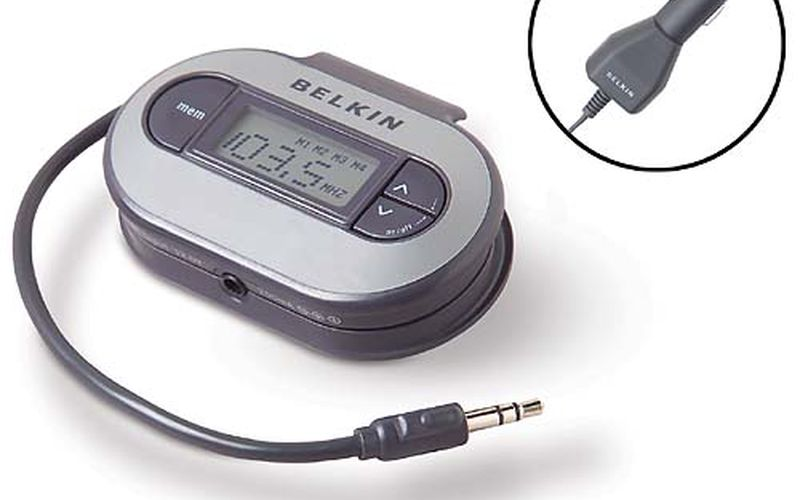 belkin tunecast fm transmitter: