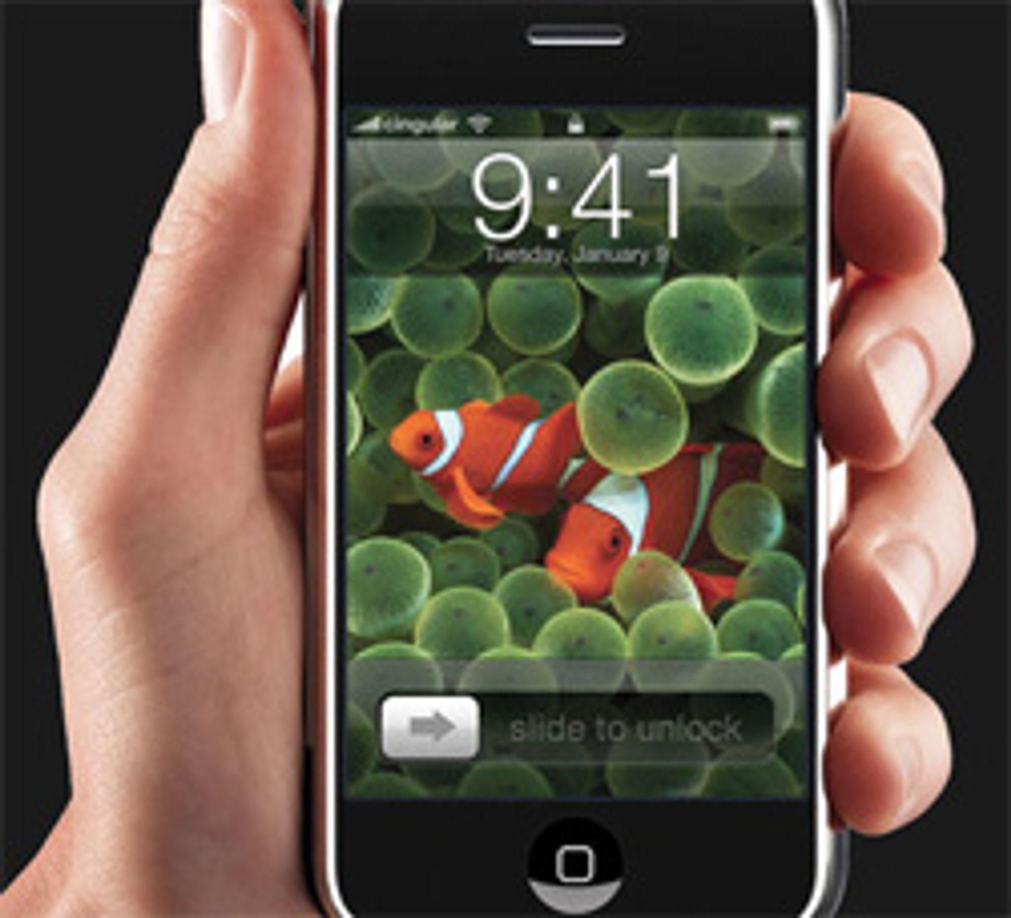 Iphone kan bli forsinket