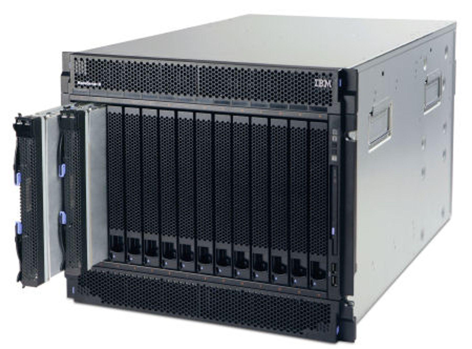 BladeCenter H - Opteron, Power eller Xeon