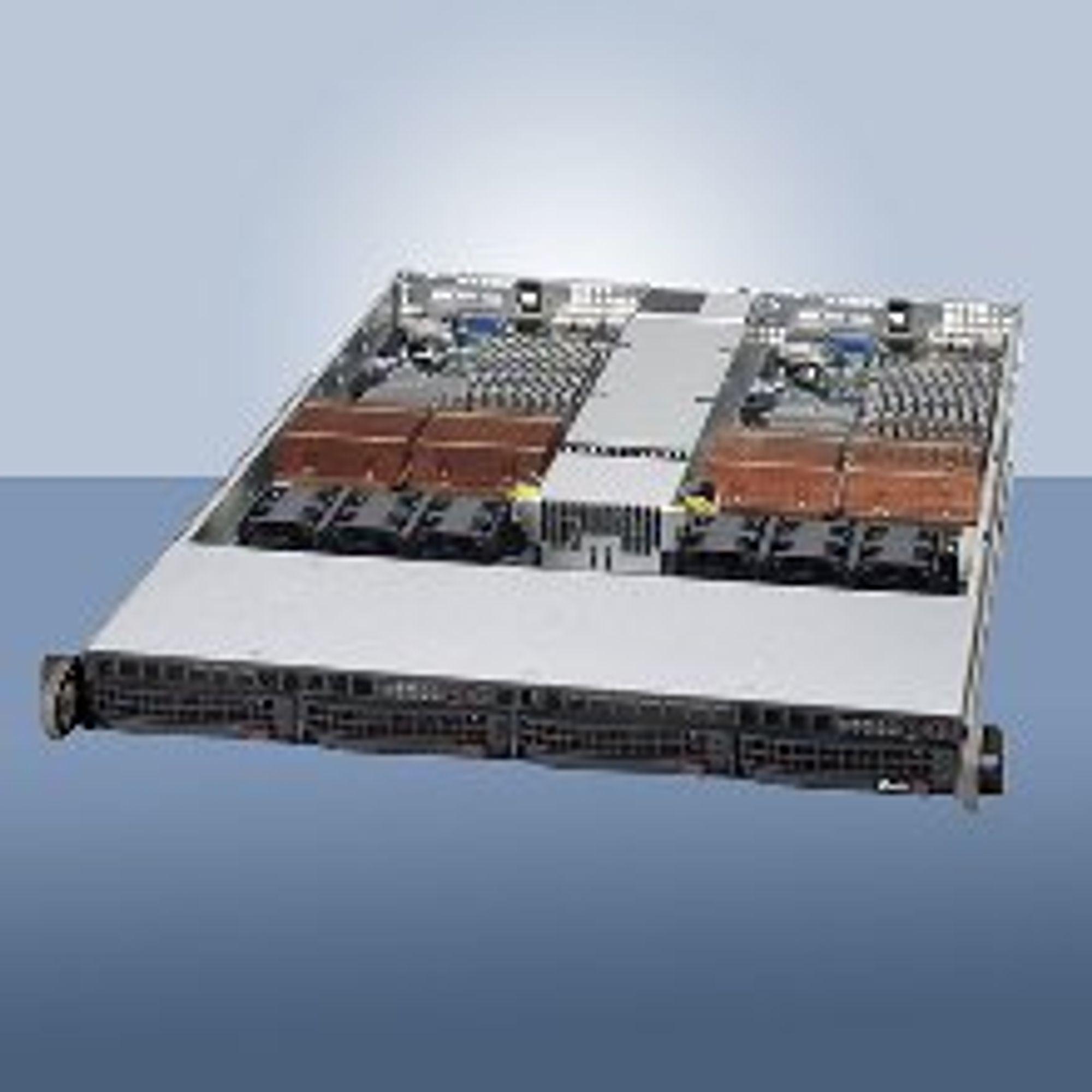 16 x86-kjerner, 2 servere i 1U