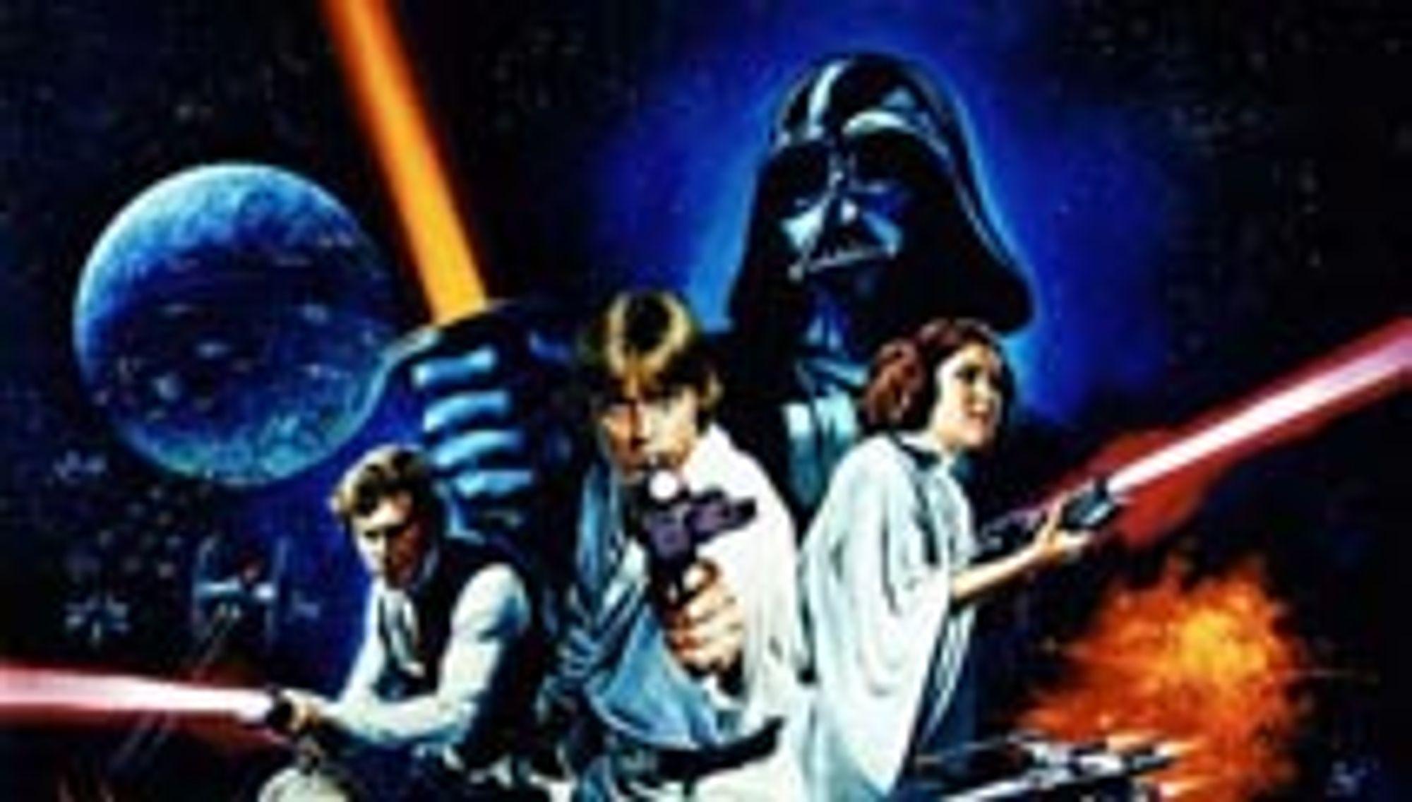 Folk bli aldri lei av Star Wars