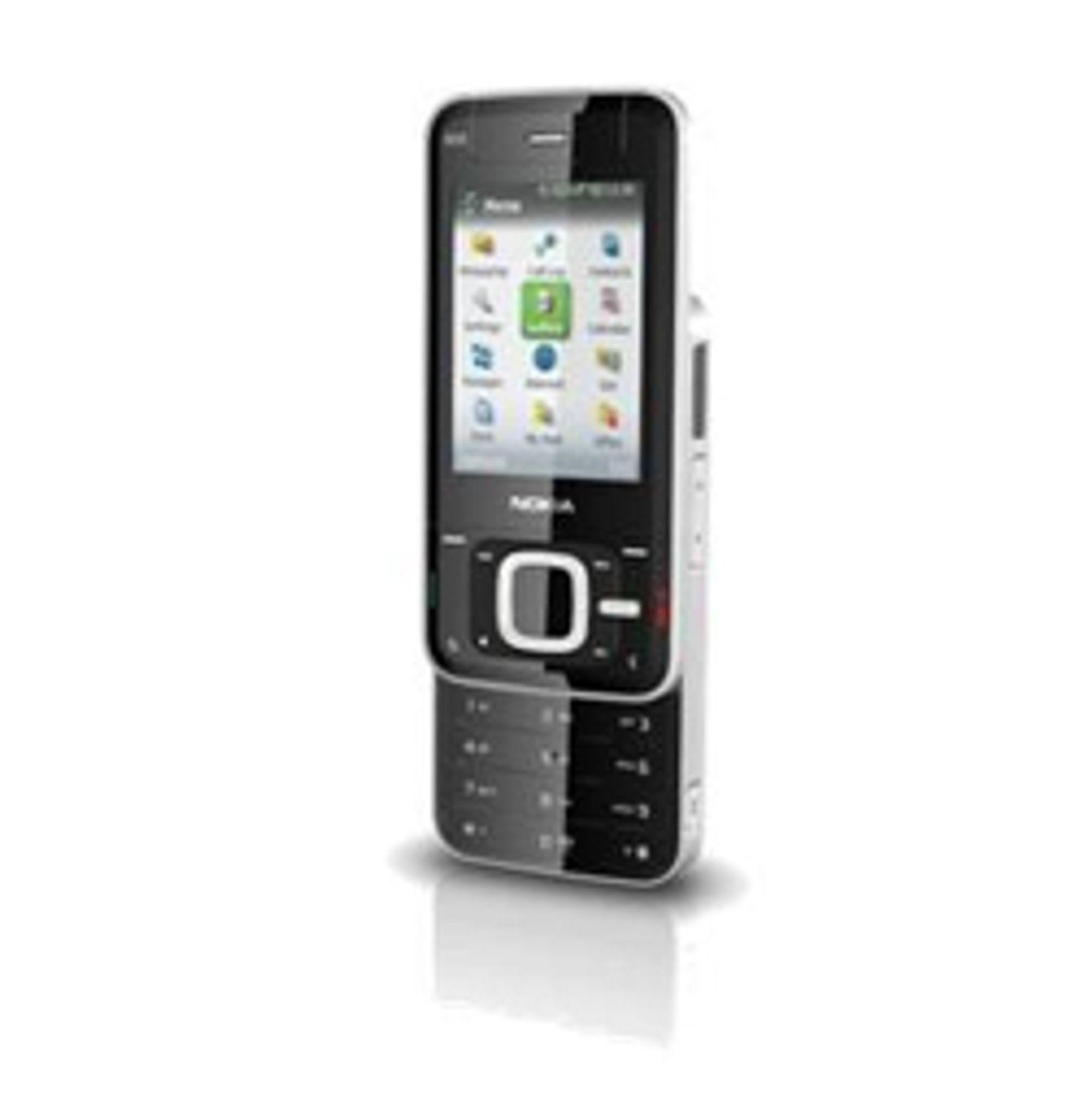Dette hevdes å være Nokia N81.