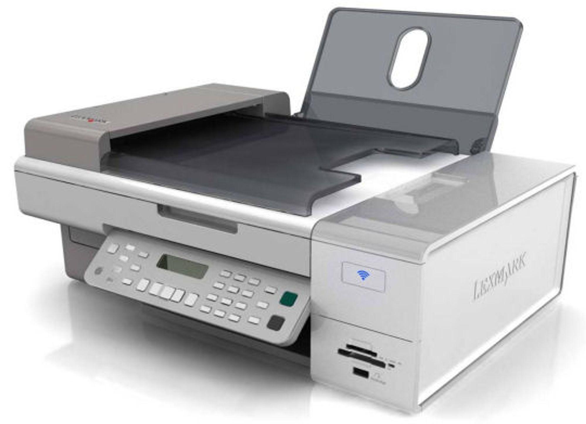 <em>En av de nye modellene fra Lexmark</em>