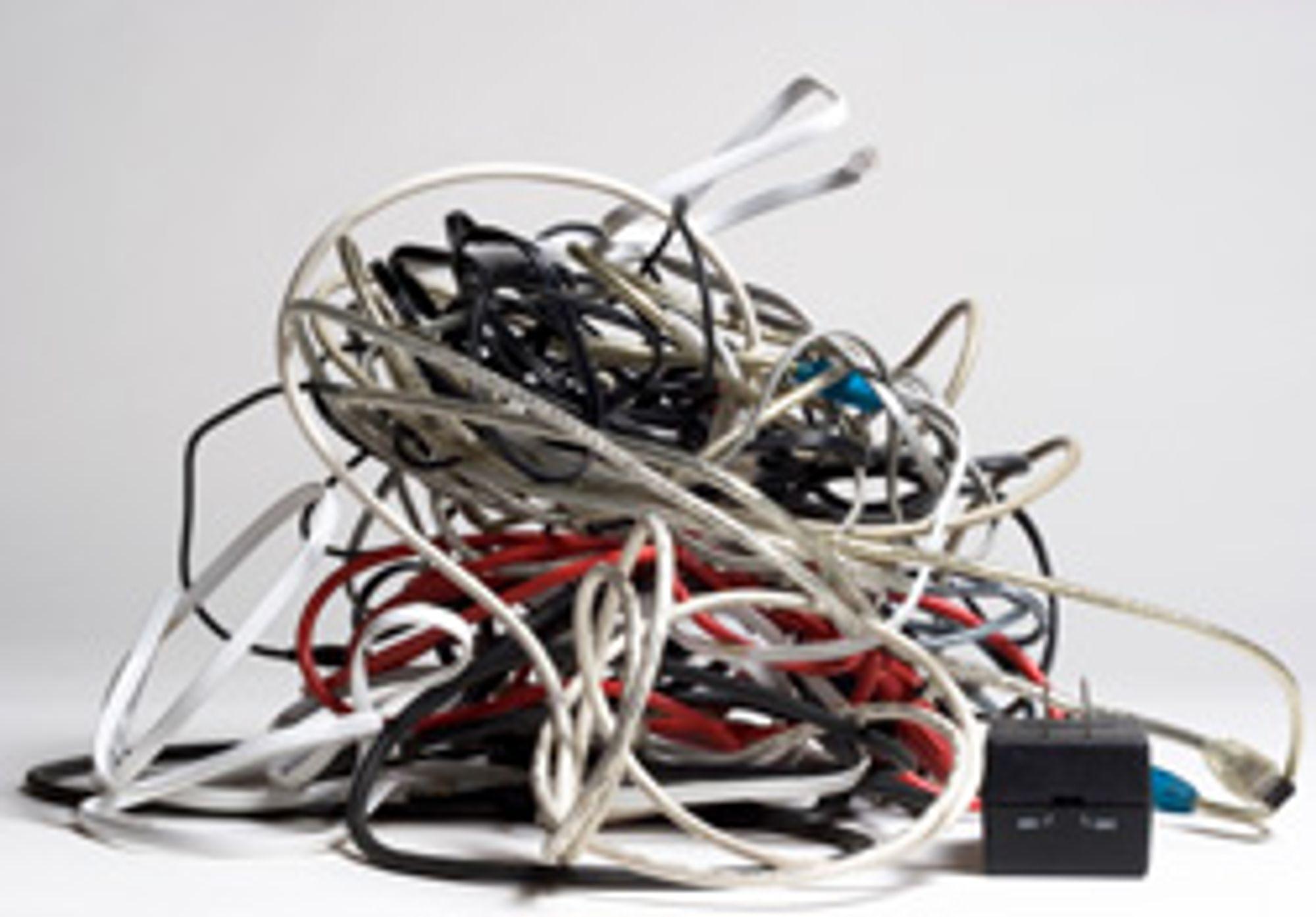 I fremtiden kan du slippe kabelkaos til mediespillerne dine.