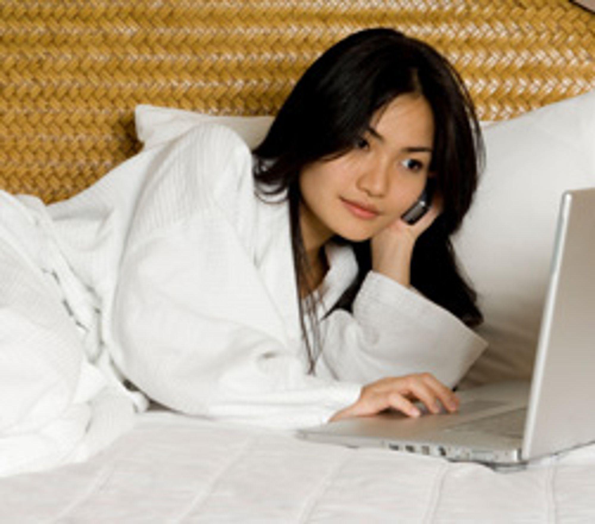 IP-telefoni fjerner en av hotellenes inntektskilder. (Foto: Istockphoto/Phil Date)
