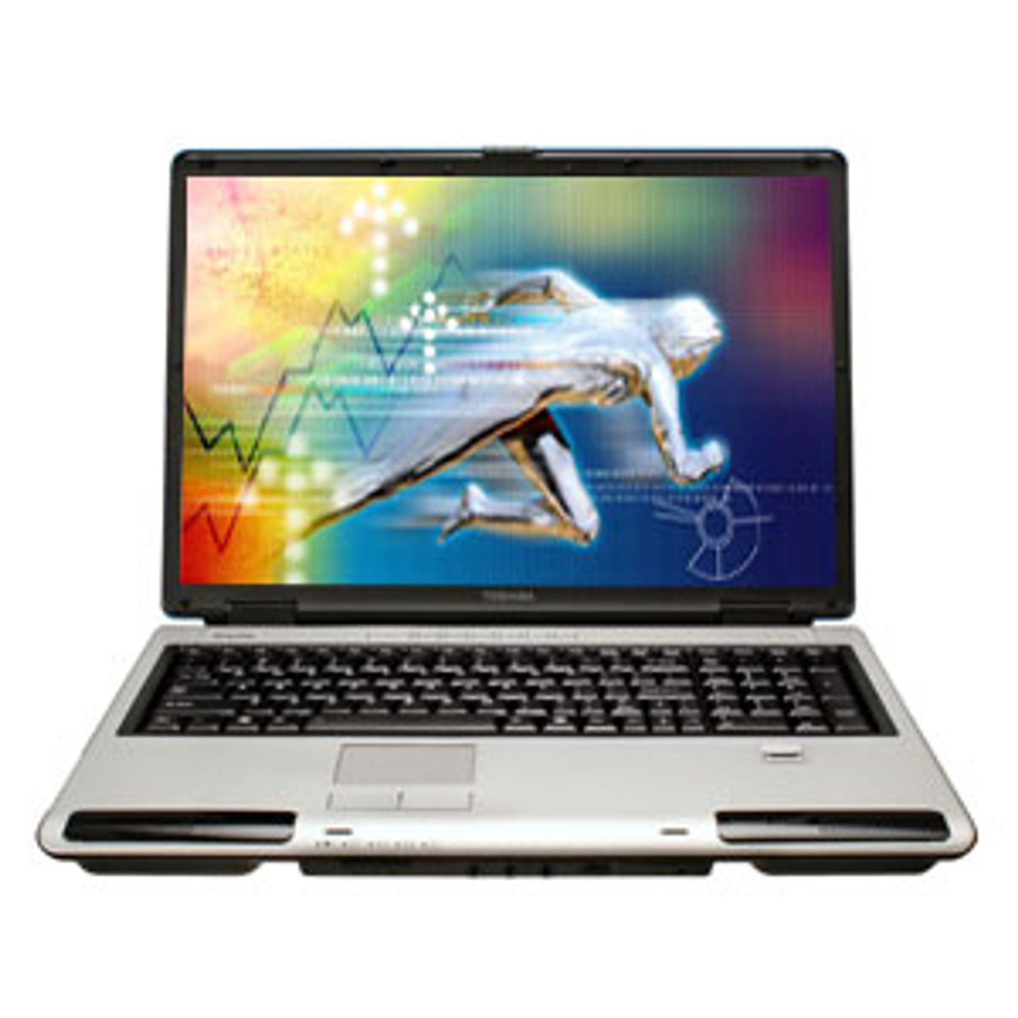 Toshiba-laptop (illustrasjonsfoto)