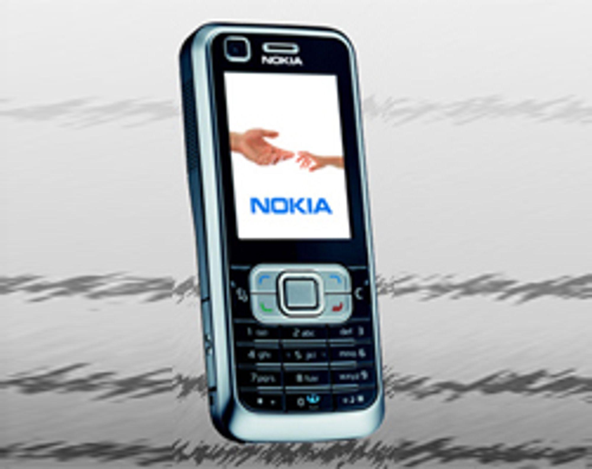 6120 Classic er en liten og lett smarttelefon.