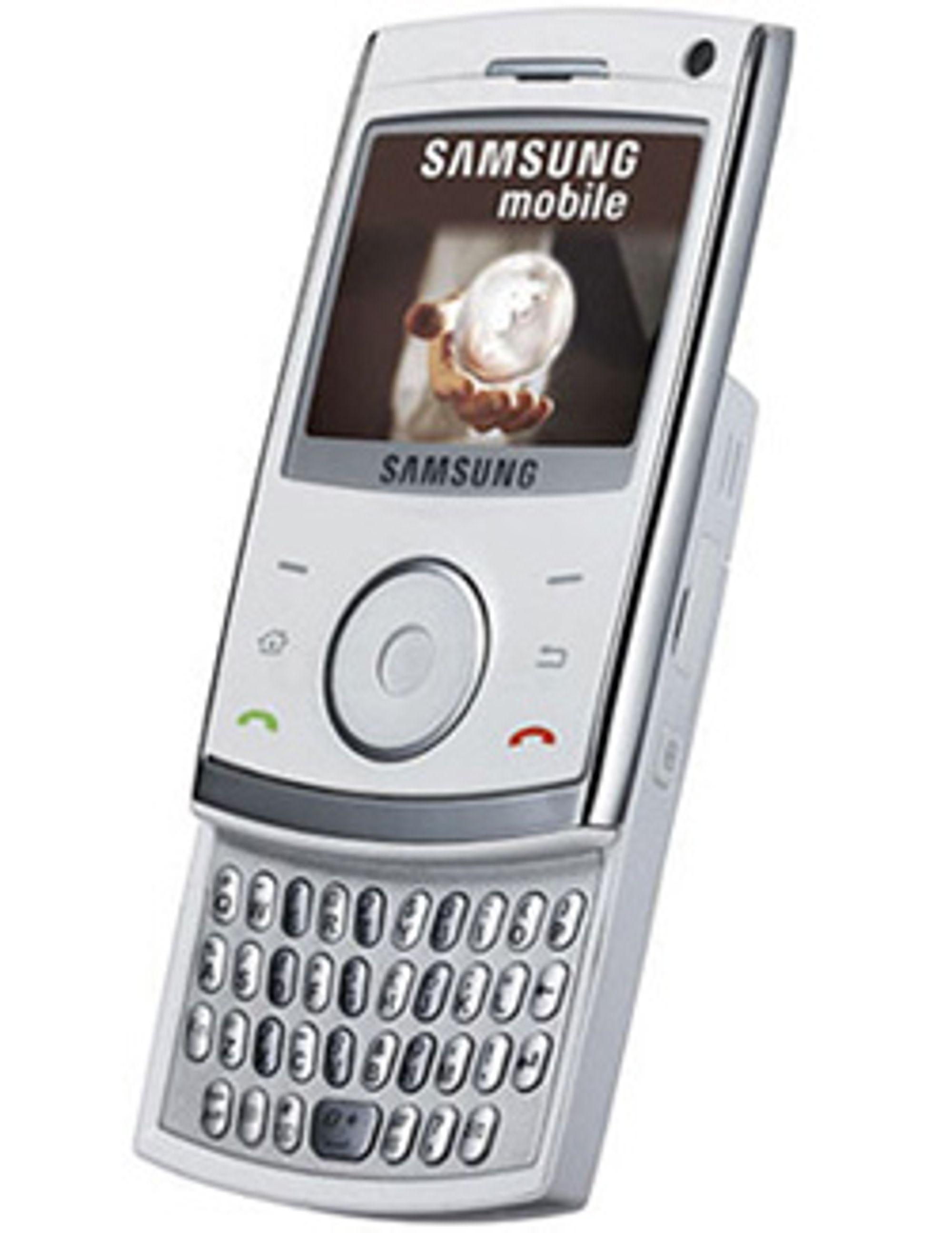 Er dette Samsungs nye forretningsmobil? (Bilde: Unwired View)