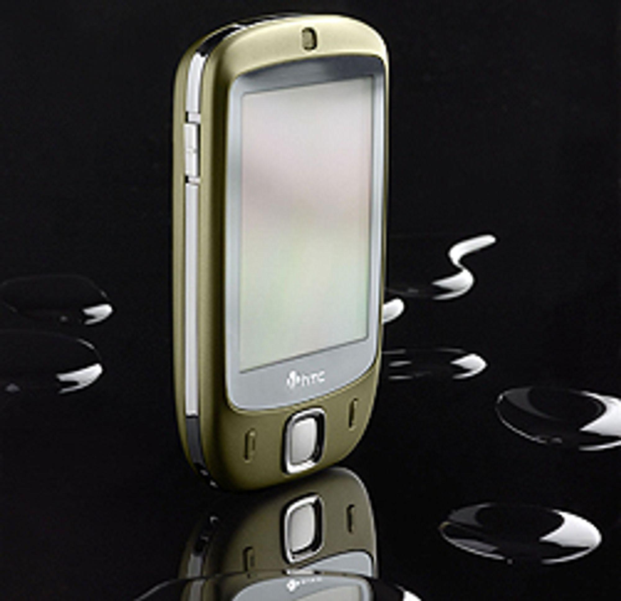 HTC Touch kommer i svart og grønt.