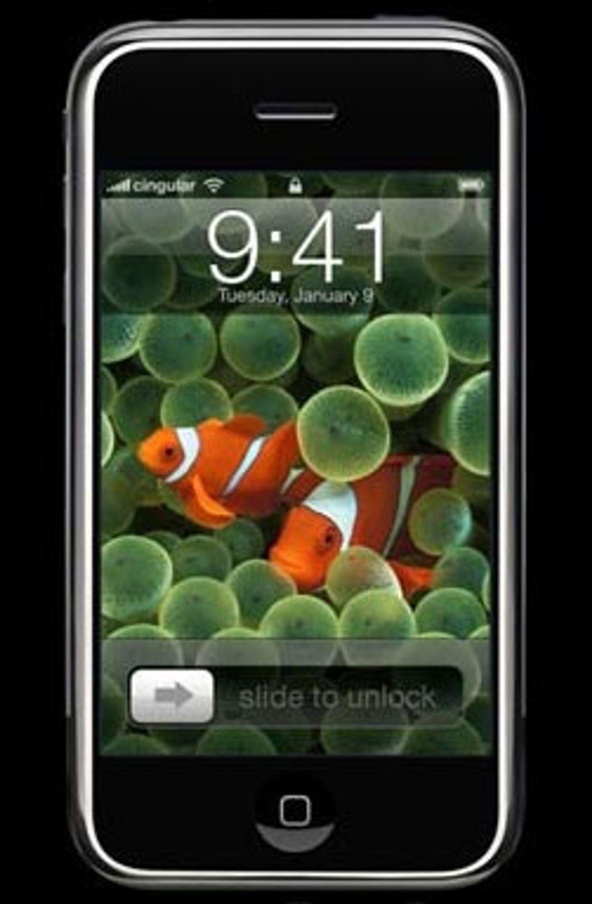 Forventningene til iPhone er store.