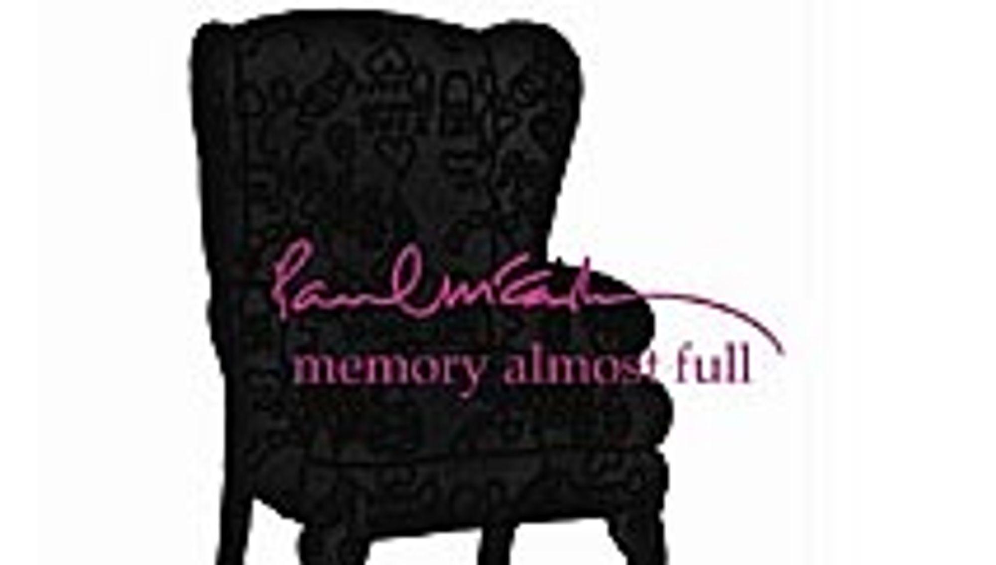 Test: Paul McCartney - Memory Almost Full