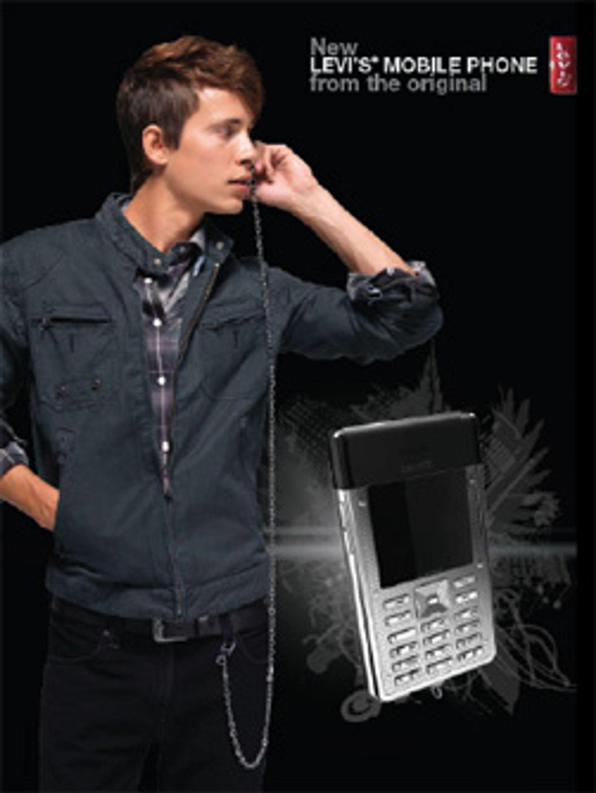 Her er Levi's-telefonen. (Bilde: Levi's)