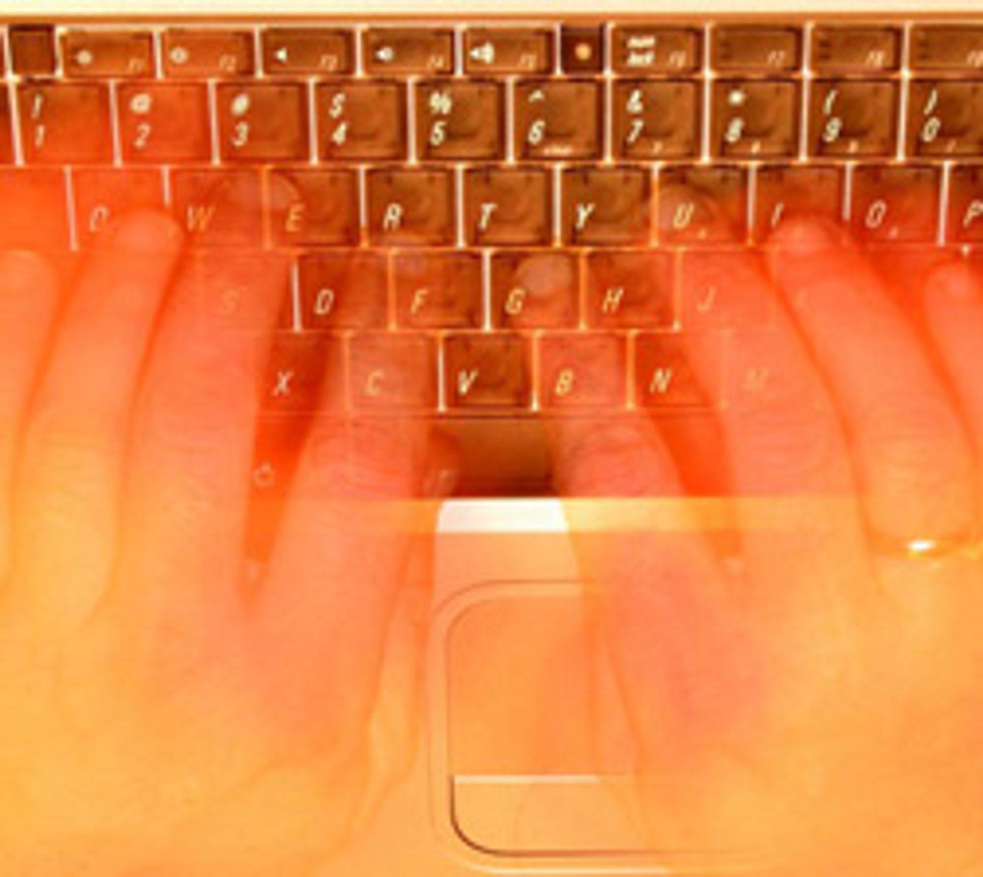 Skriver du på PC-en, går det sannsynligvis mye fortere enn på mobilen.