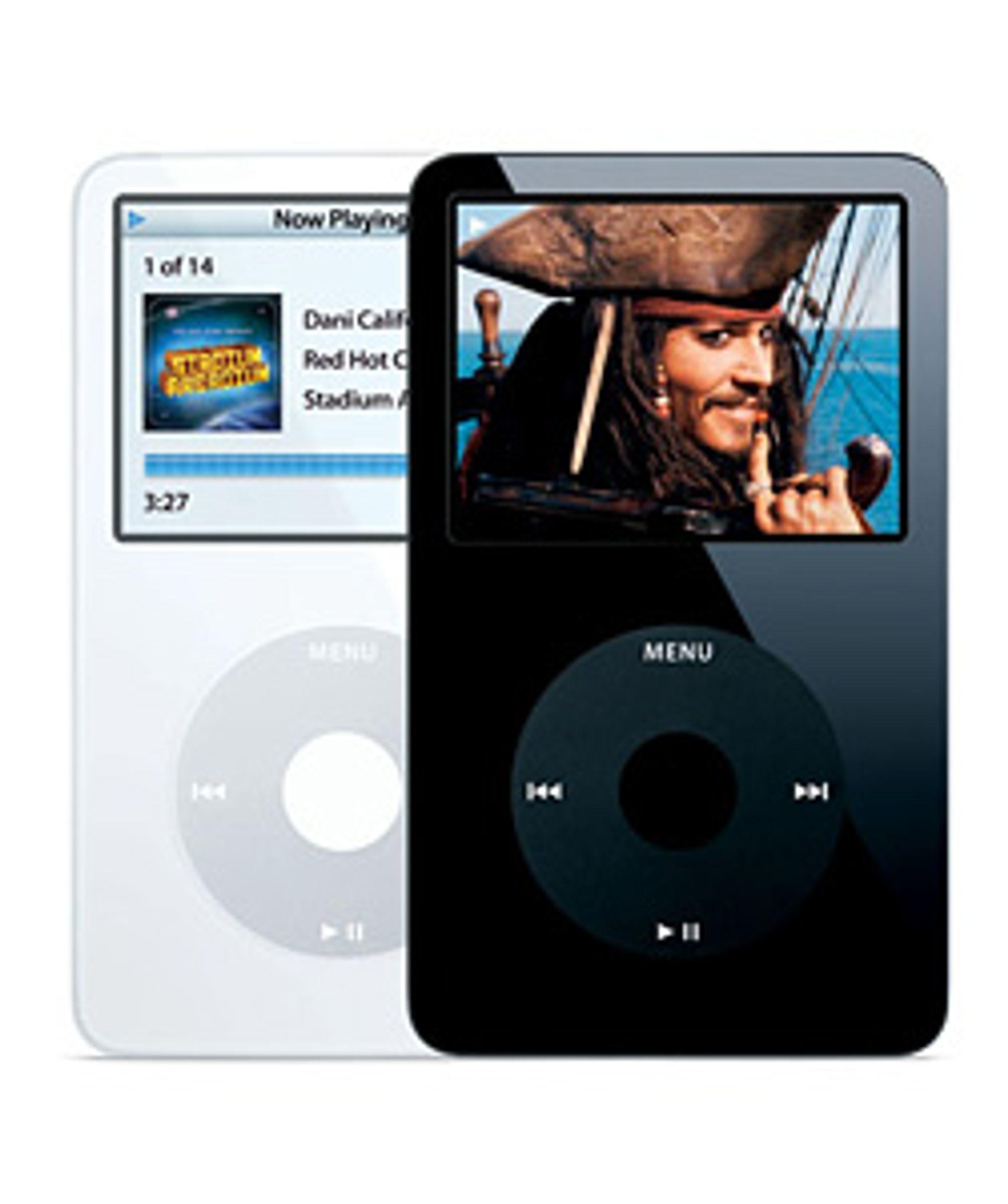 iPod video har vi sett før, men hva sier du til en med OS X?