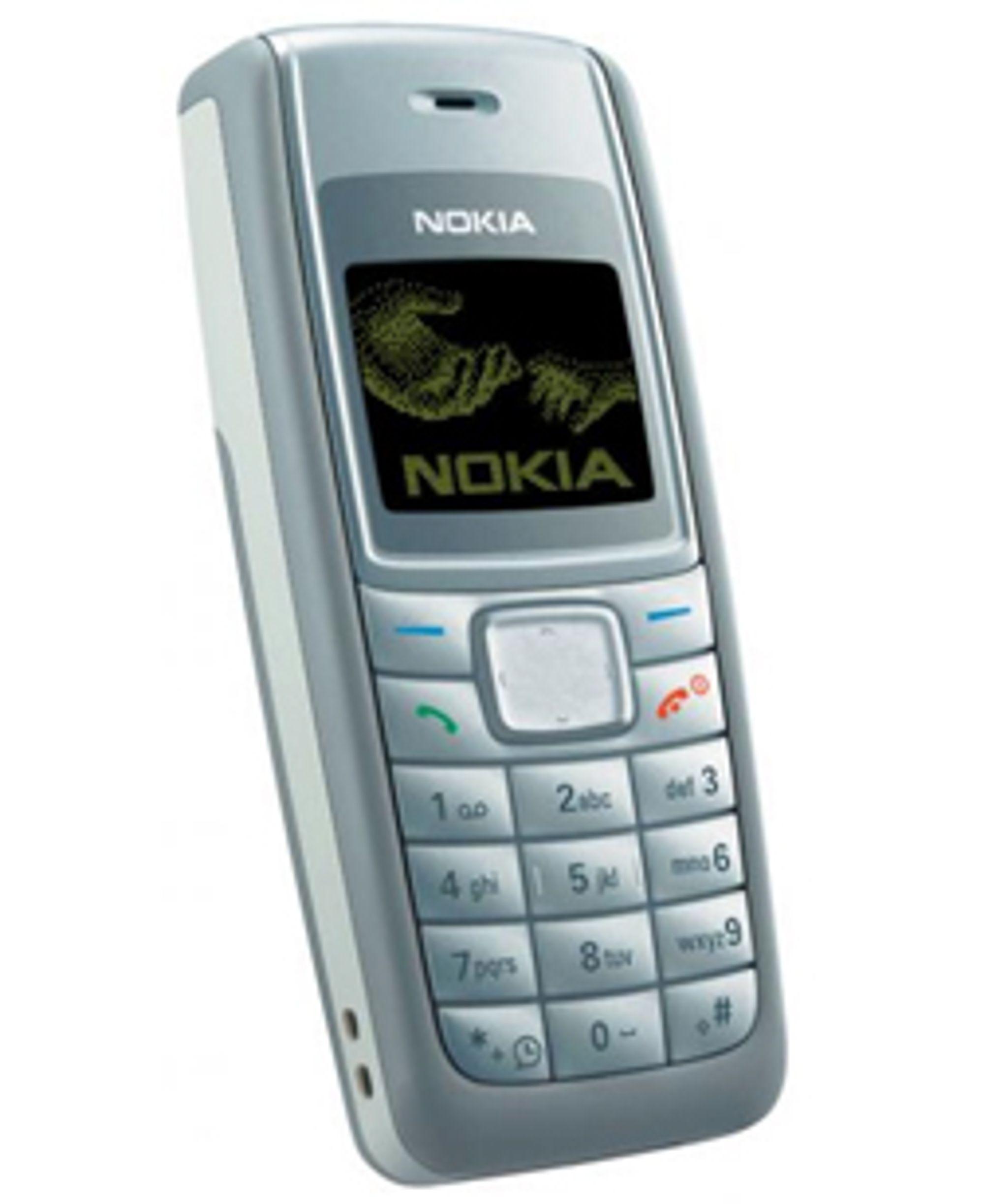 Nokia 1110i er den billigste mobiltelefonen du får kjøpt.