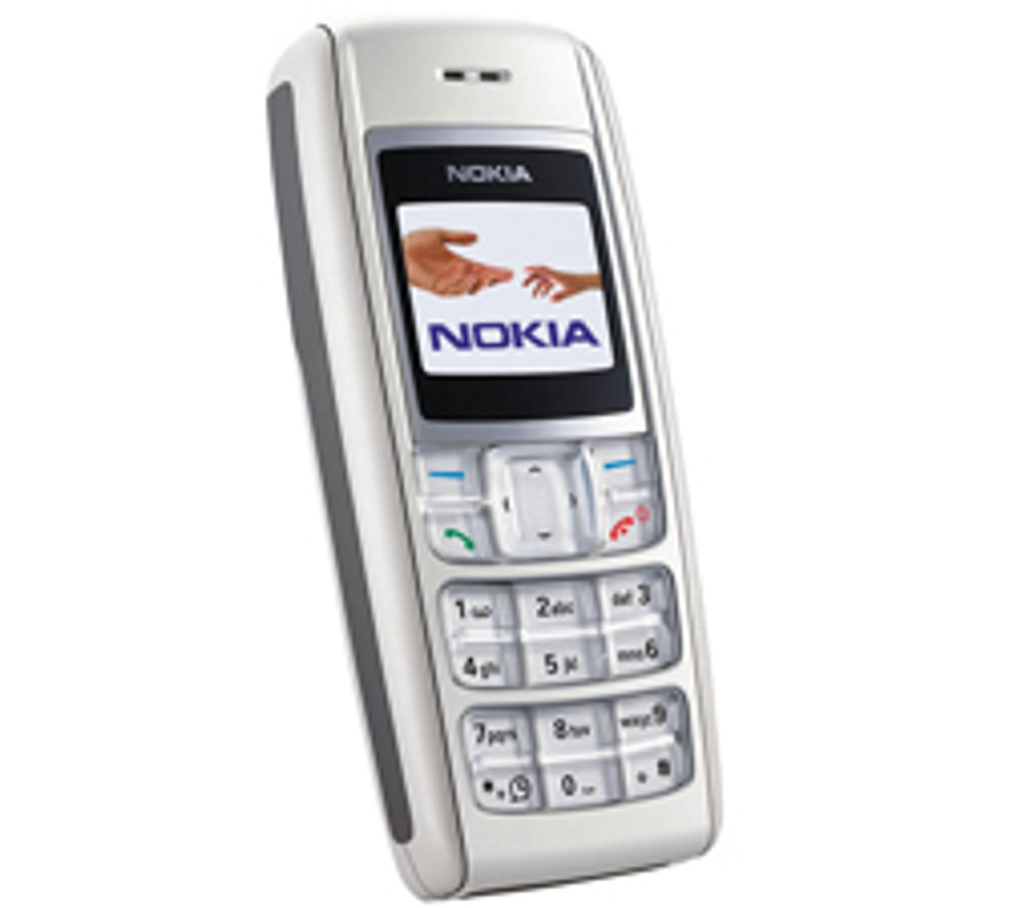 Nokia 1600 har fargeskjerm og kan lagre 60 SMS.
