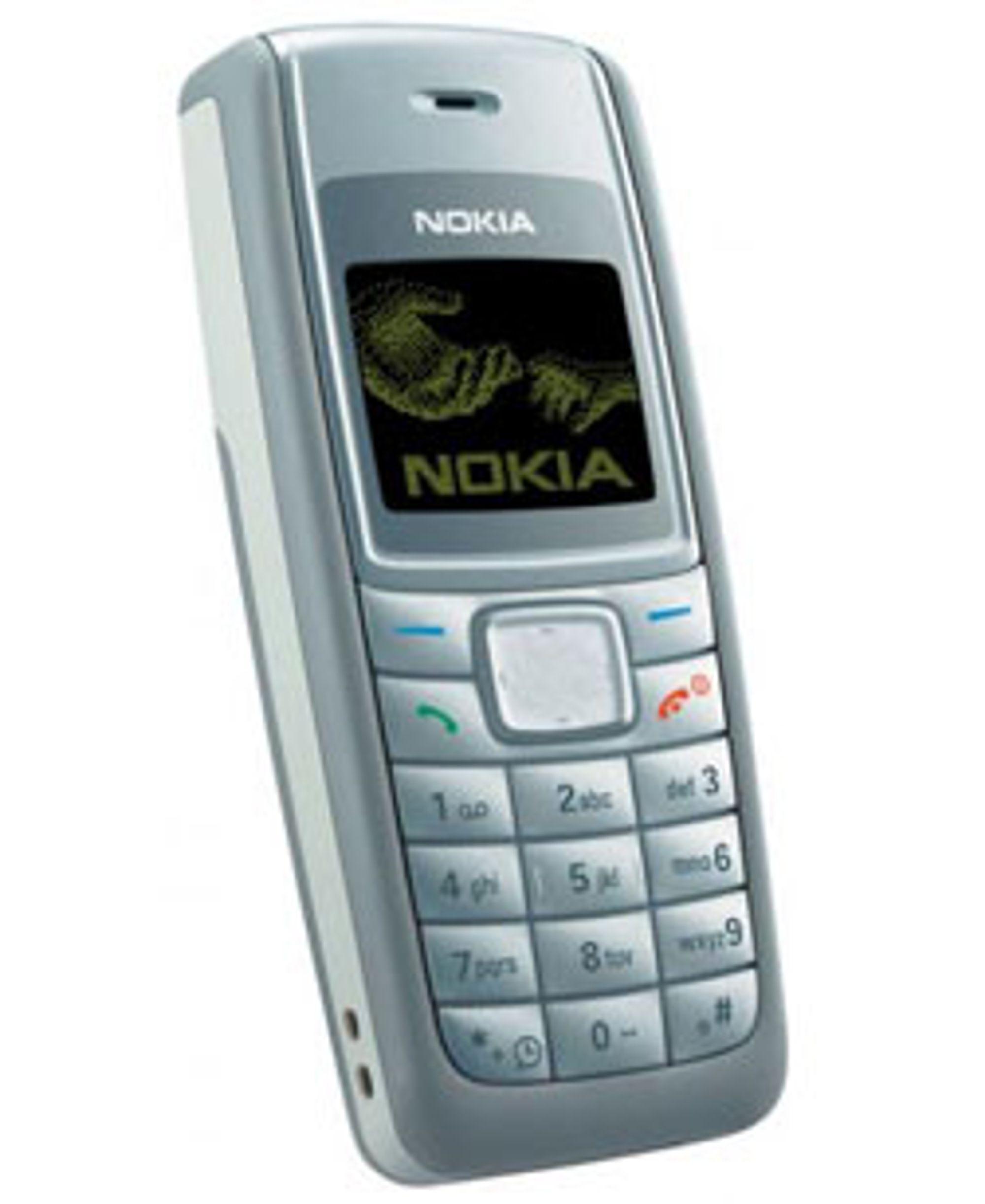 Sony Ericsson vil ta opp kampen med 1110i, som er den billigste på markedet.