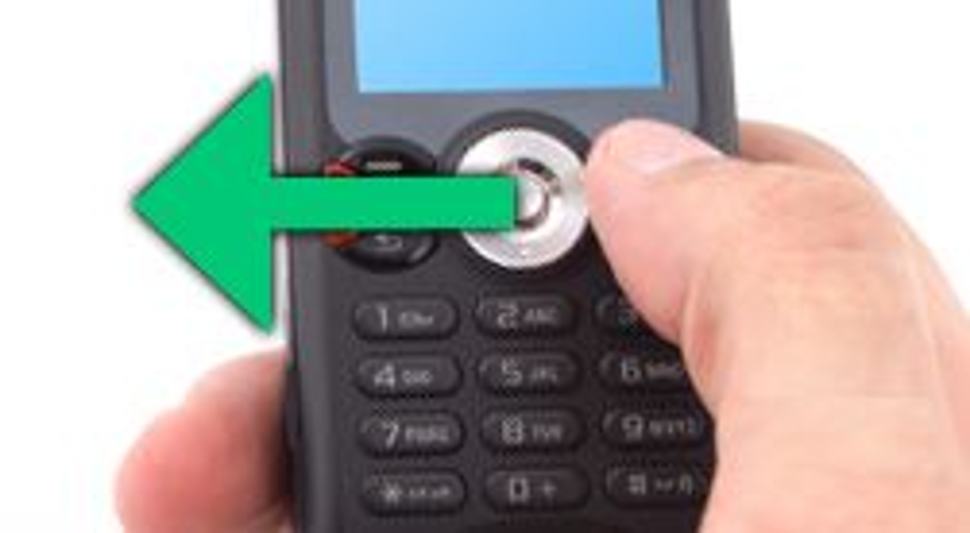 Piltasten til venstre er en lur snarveistast for å lage en ny melding.