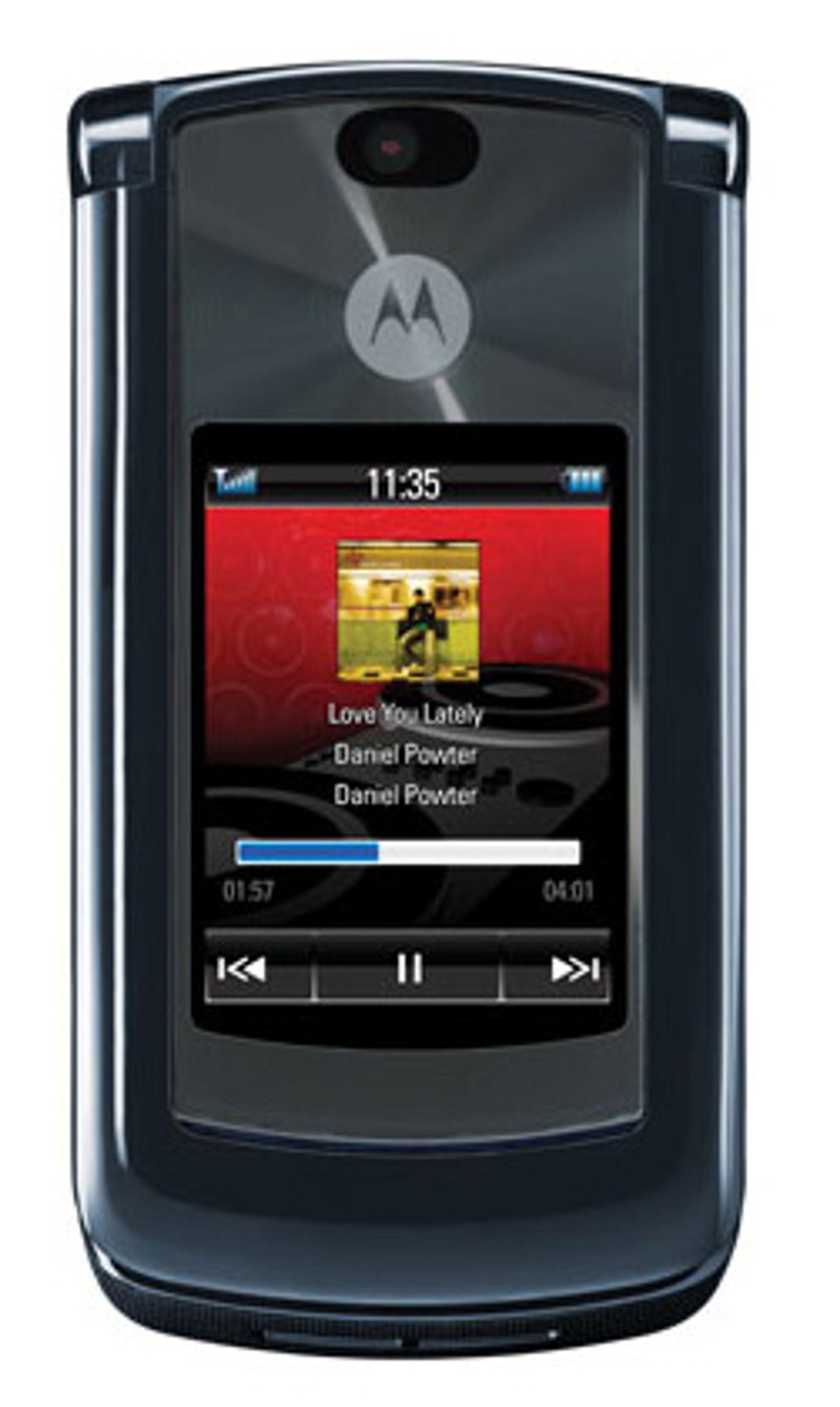 Razr2 V8 er en av mange telefoner som snart kommer i butikk.