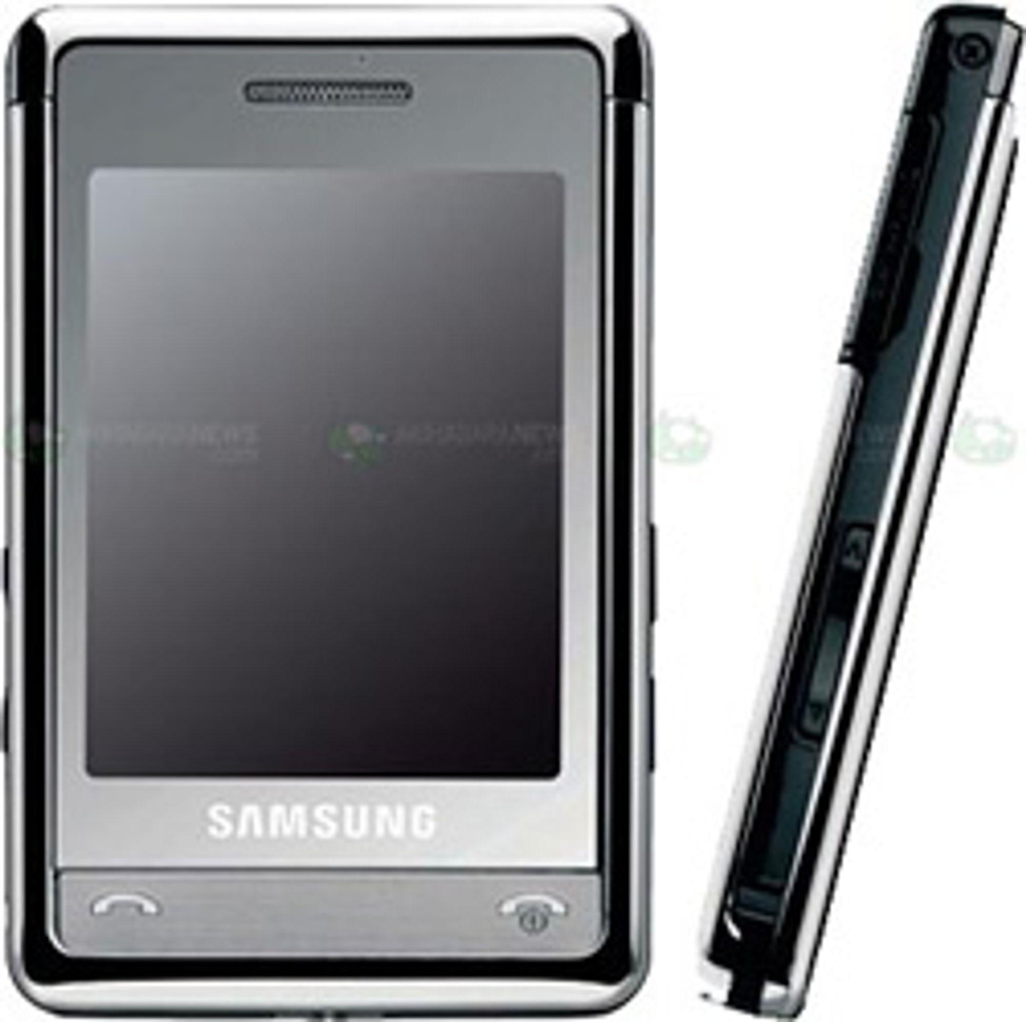 Samsungs P520 (Foto: Mobile Magazine)