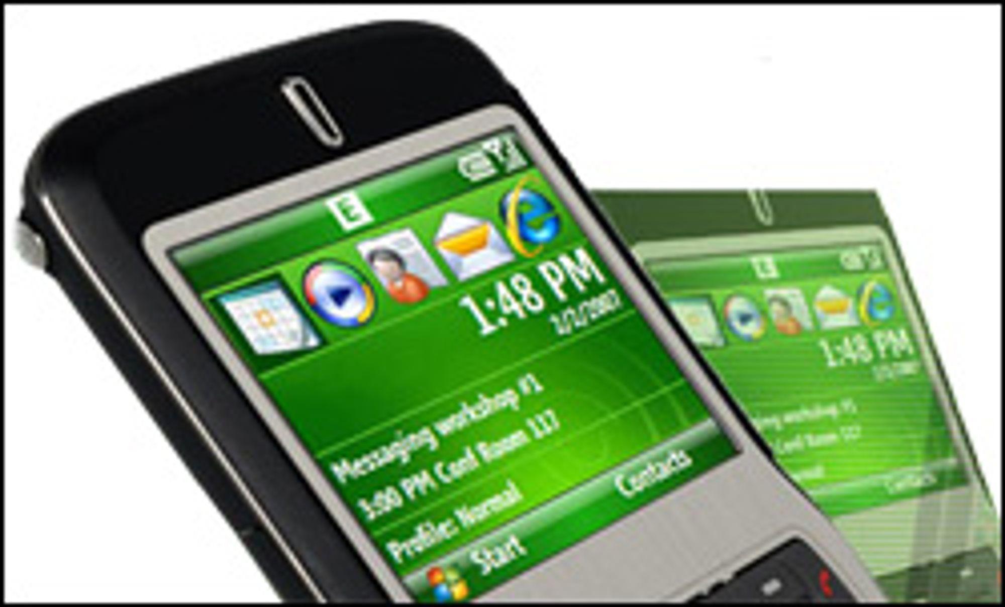 Asus bruker Windows Mobile 6 i telefonene sine.