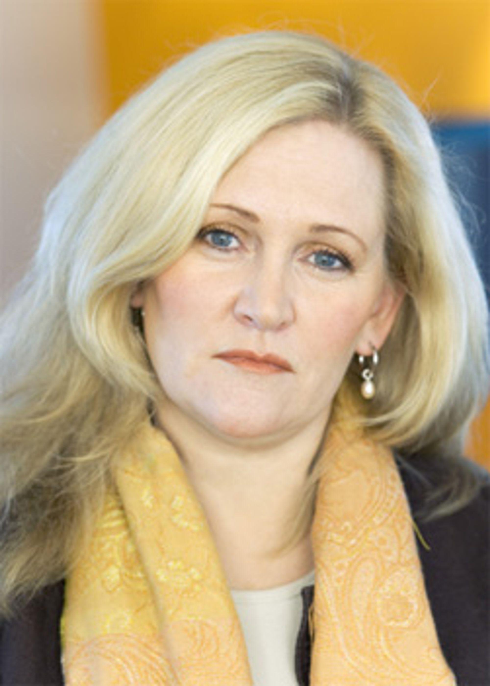 Guri Wormdahl i Netcom er begymret for utviklingen i markedet. (Foto: Netcom)